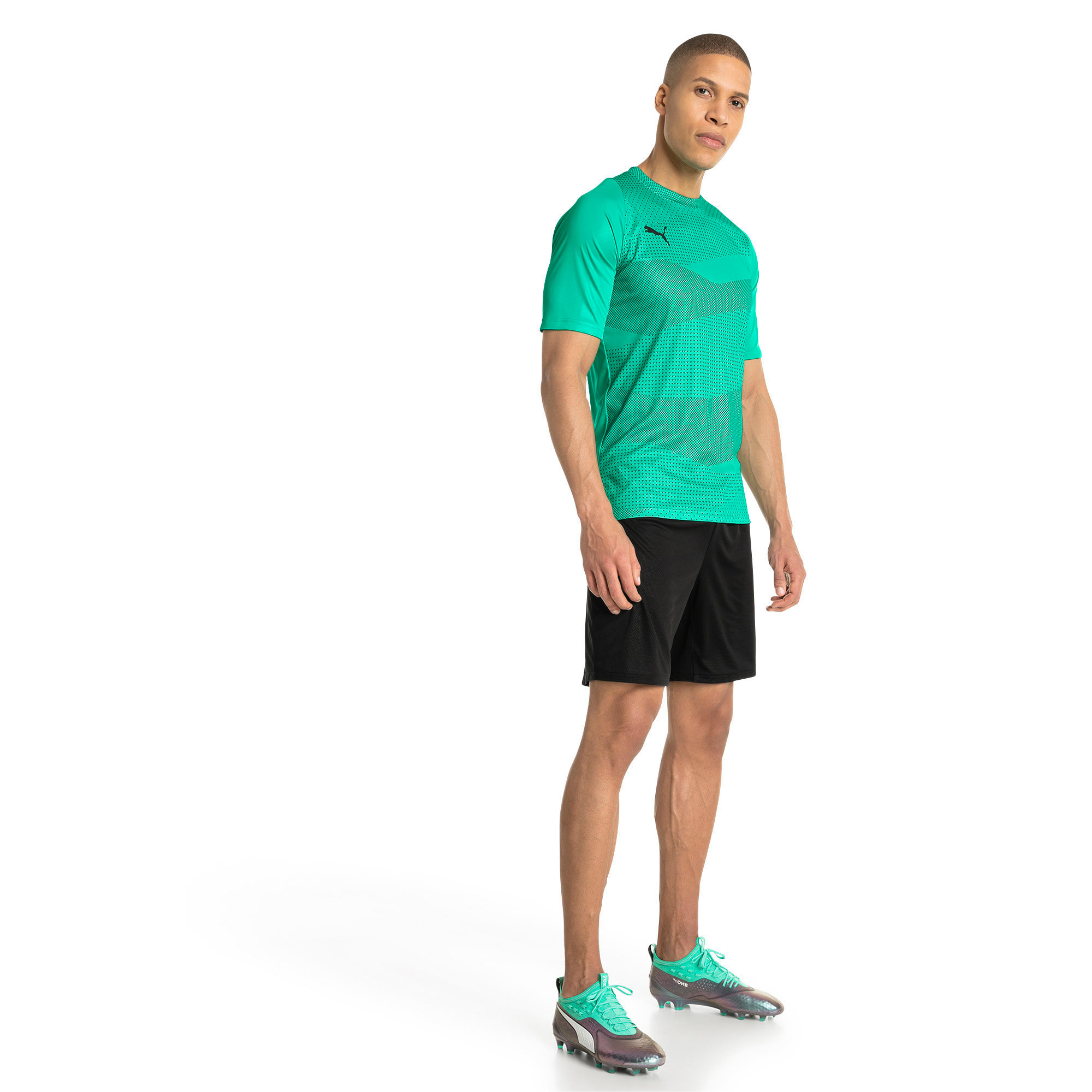 Thumbnail 5 of ftblNXT Graphic Core Men's Training Top, Biscay Green-Iron Gate, medium