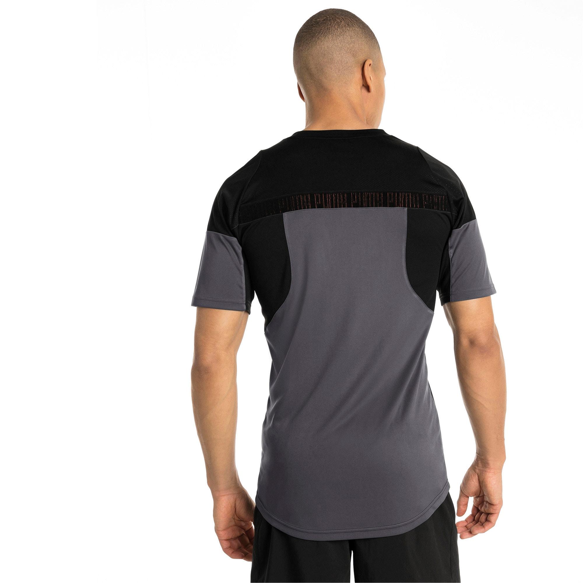 Thumbnail 3 of ftblNXT Graphic Men's Training Top, Puma Black-Iron Gate, medium