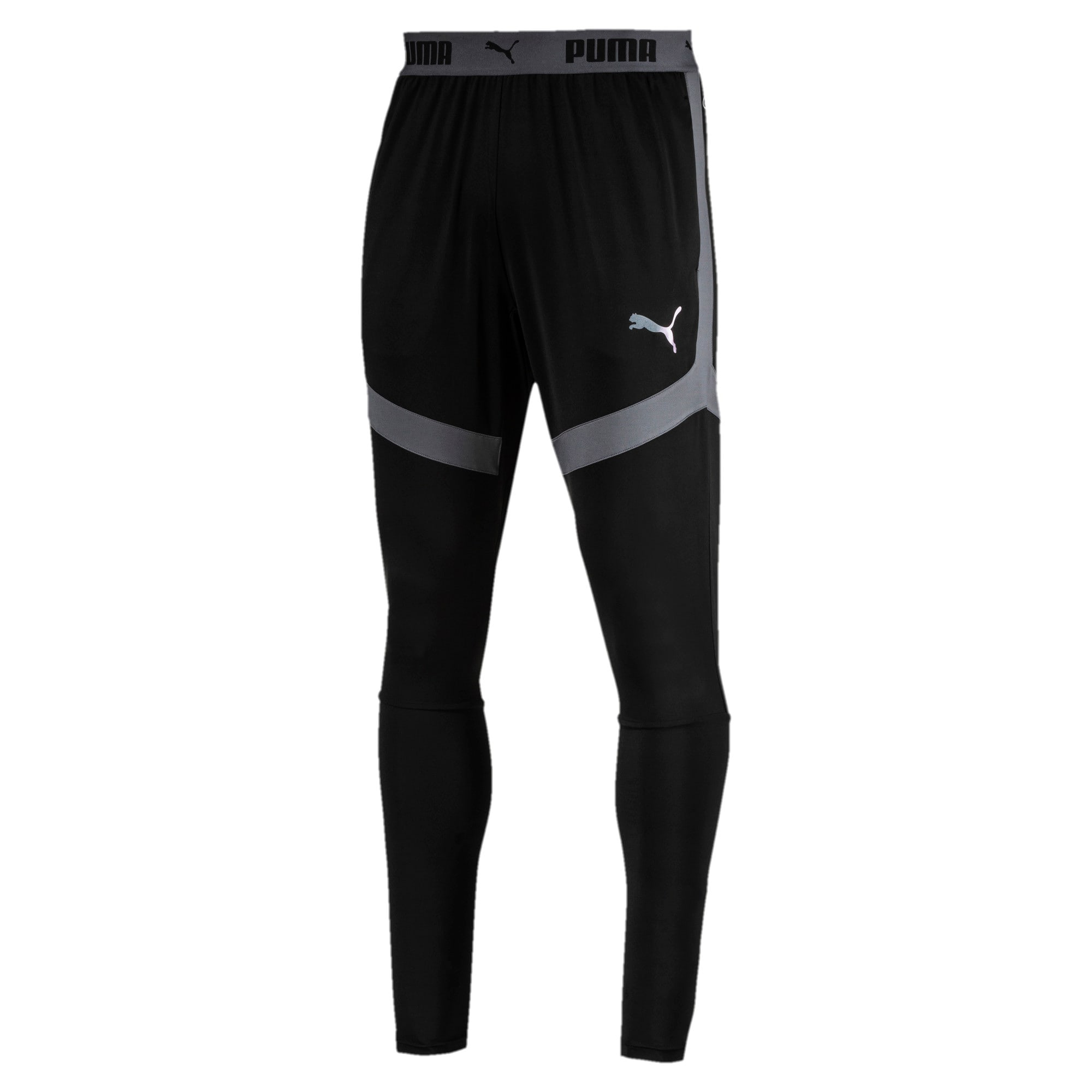 Thumbnail 1 of ftblNXT Men's Pro Pants, Puma Black-Iron Gate, medium