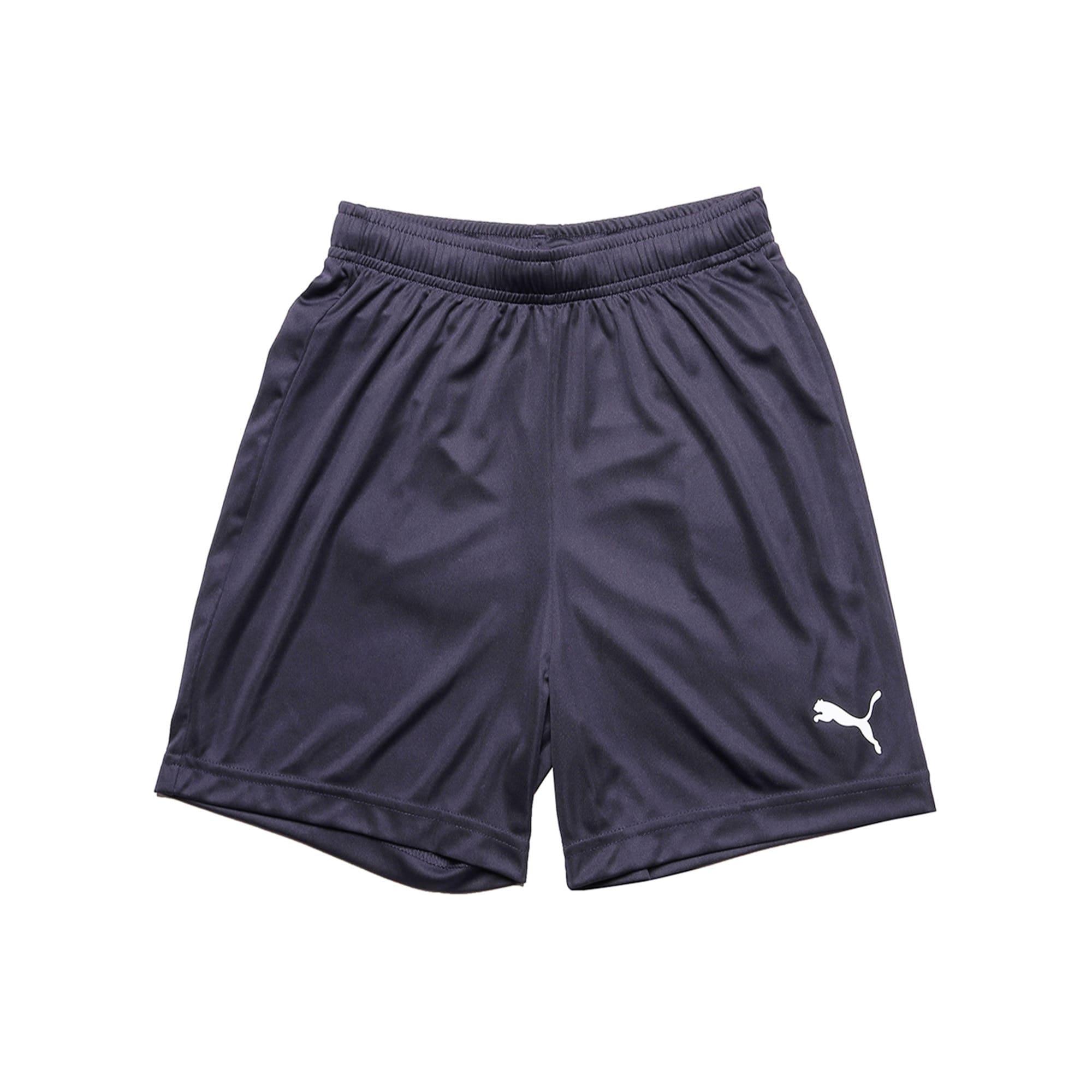 Thumbnail 2 of ftblPLAY Kids' Shorts, Puma New Navy, medium-IND
