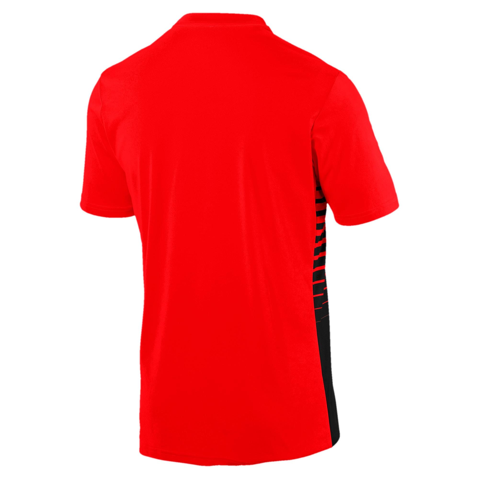 Thumbnail 5 of ftblPLAY Graphic Shirt, Red Blast-Puma Black, medium