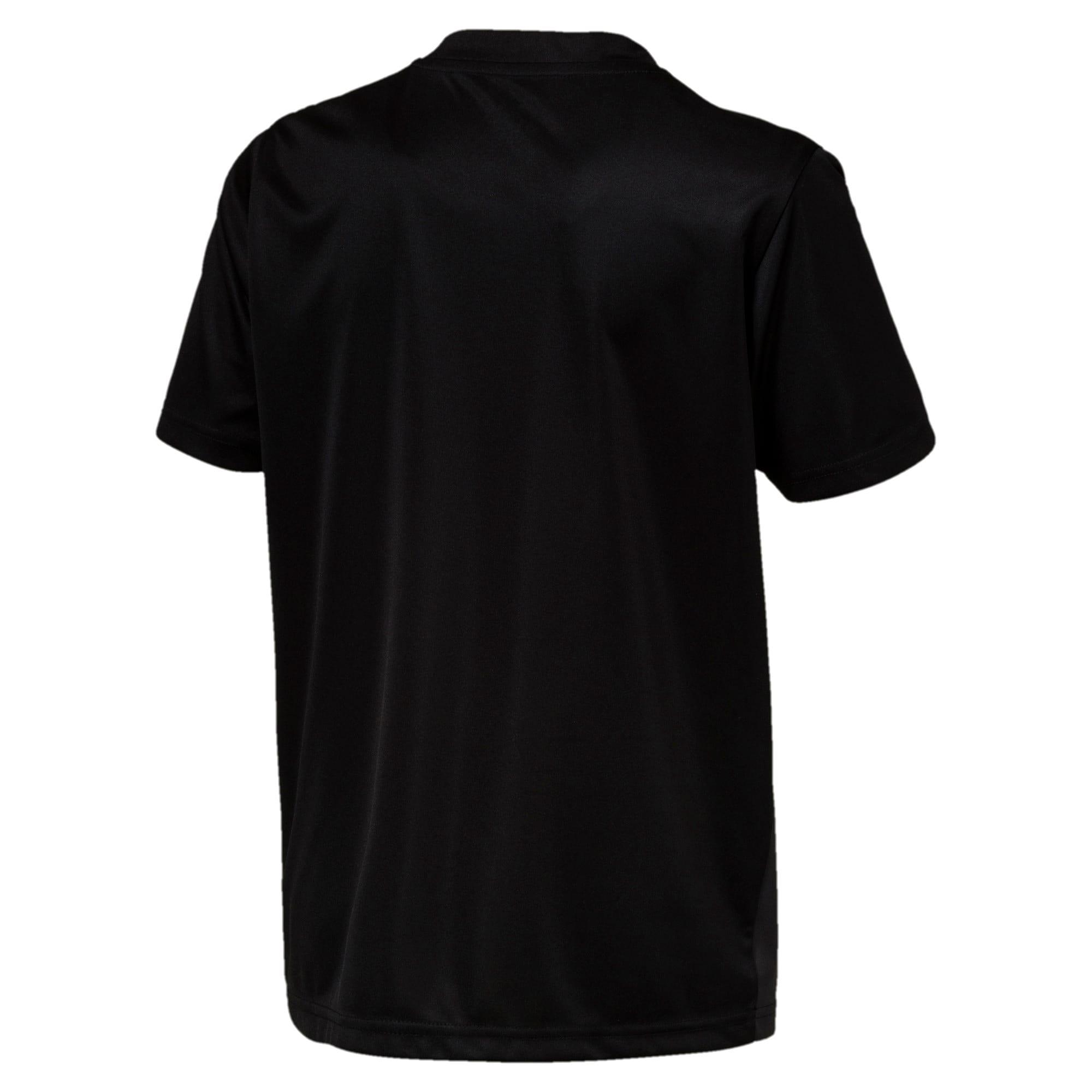 Thumbnail 2 of ftblPLAY Graphic Boys' Shirt, Asphalt-Puma Black, medium