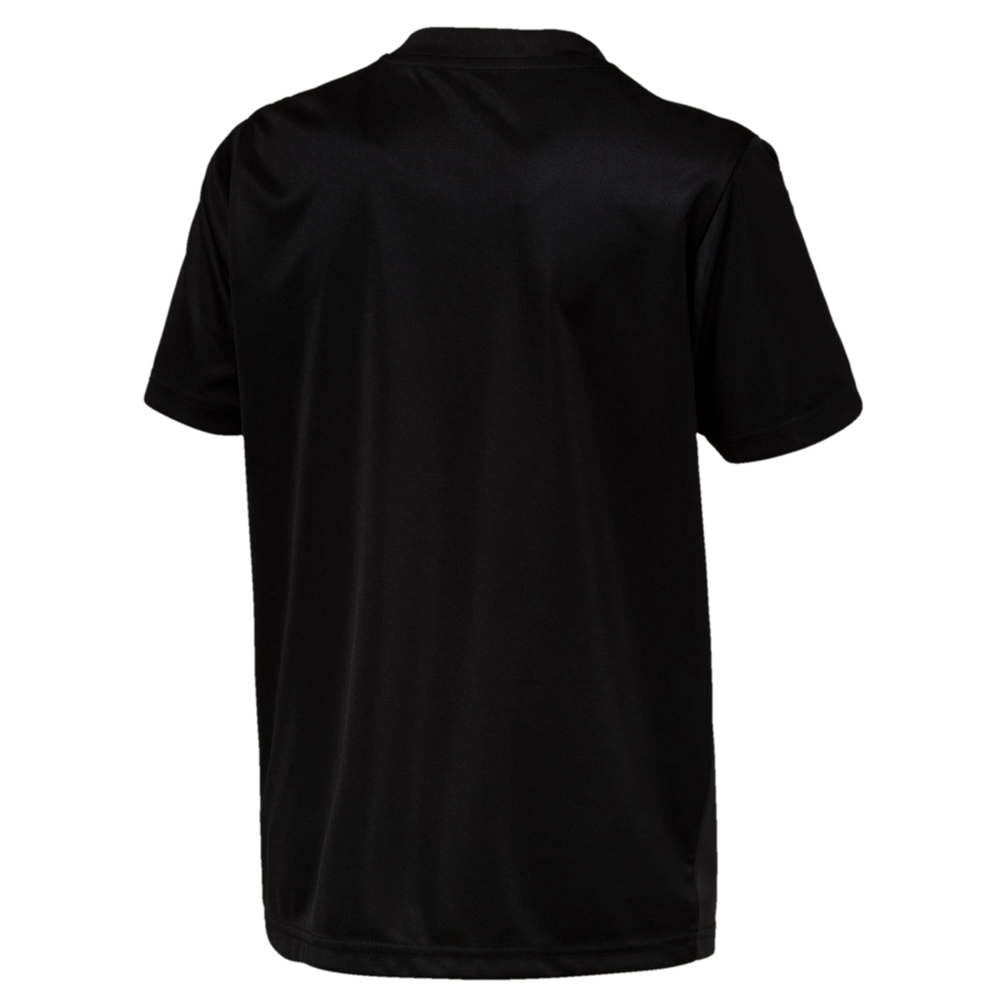 Thumbnail 2 of ftblPLAY Graphic Boys' Shirt, Asphalt-Puma Black, medium-IND