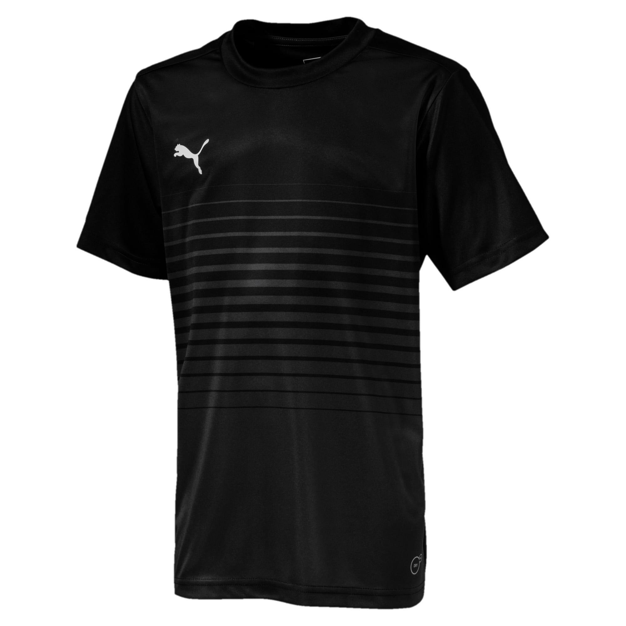 Thumbnail 1 of ftblPLAY Graphic Boys' Shirt, Asphalt-Puma Black, medium-IND