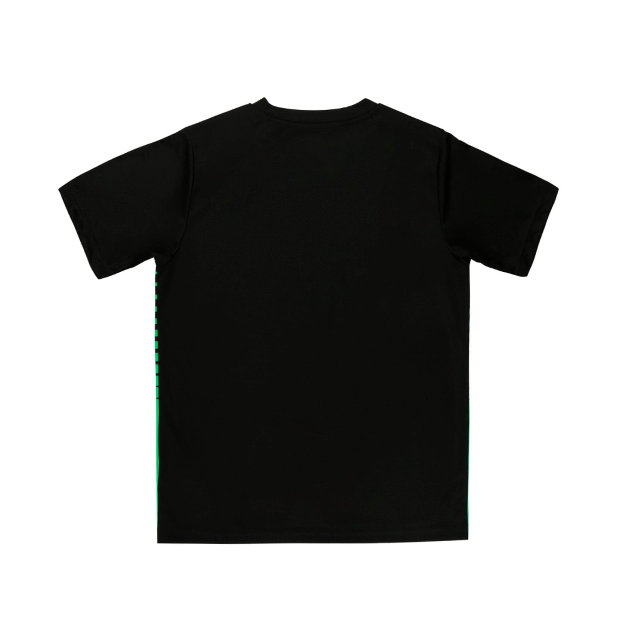 Thumbnail 2 of ftblPLAY Graphic Boys' Shirt, Puma Black-ANDEAN TOUCAN, medium-IND