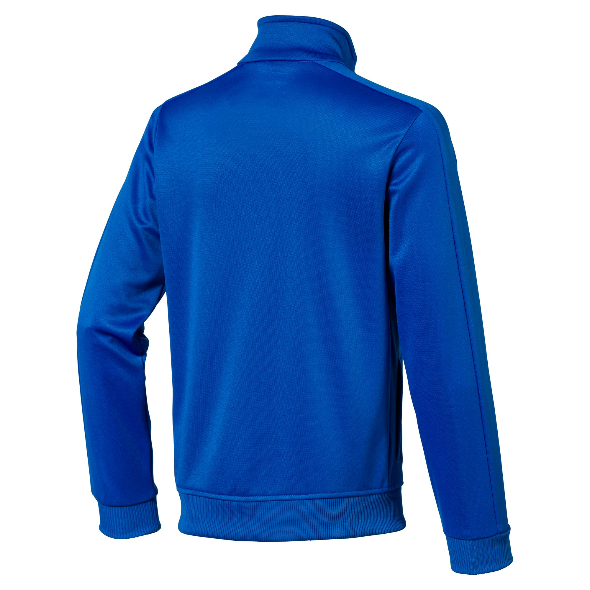 Thumbnail 2 of Football Kids' LIGA Casuals Track Jacket, Electric Blue Lemonade, medium