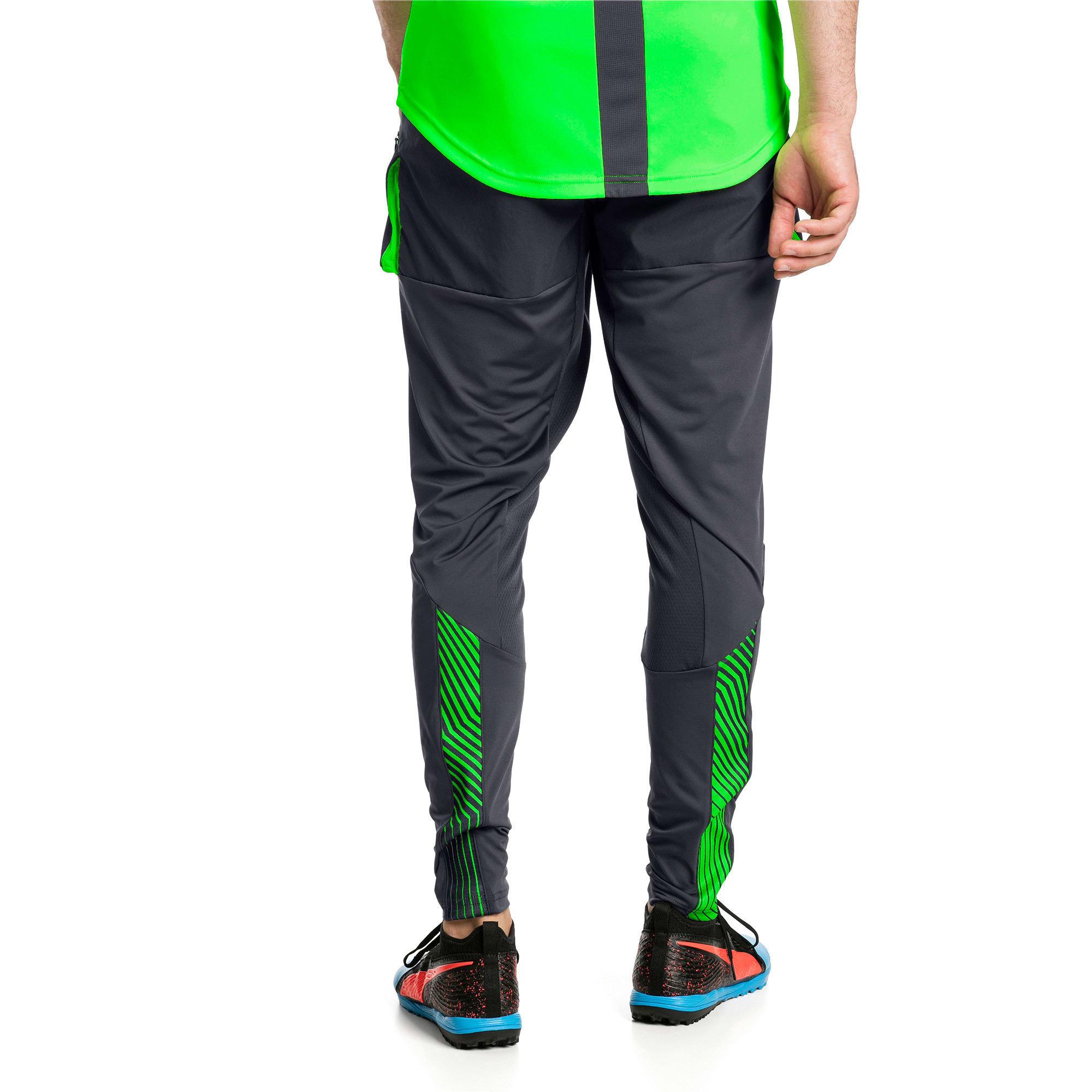 Thumbnail 3 of ftblNXT Men's Pro Training Pants, Ebony-Green Gecko, medium