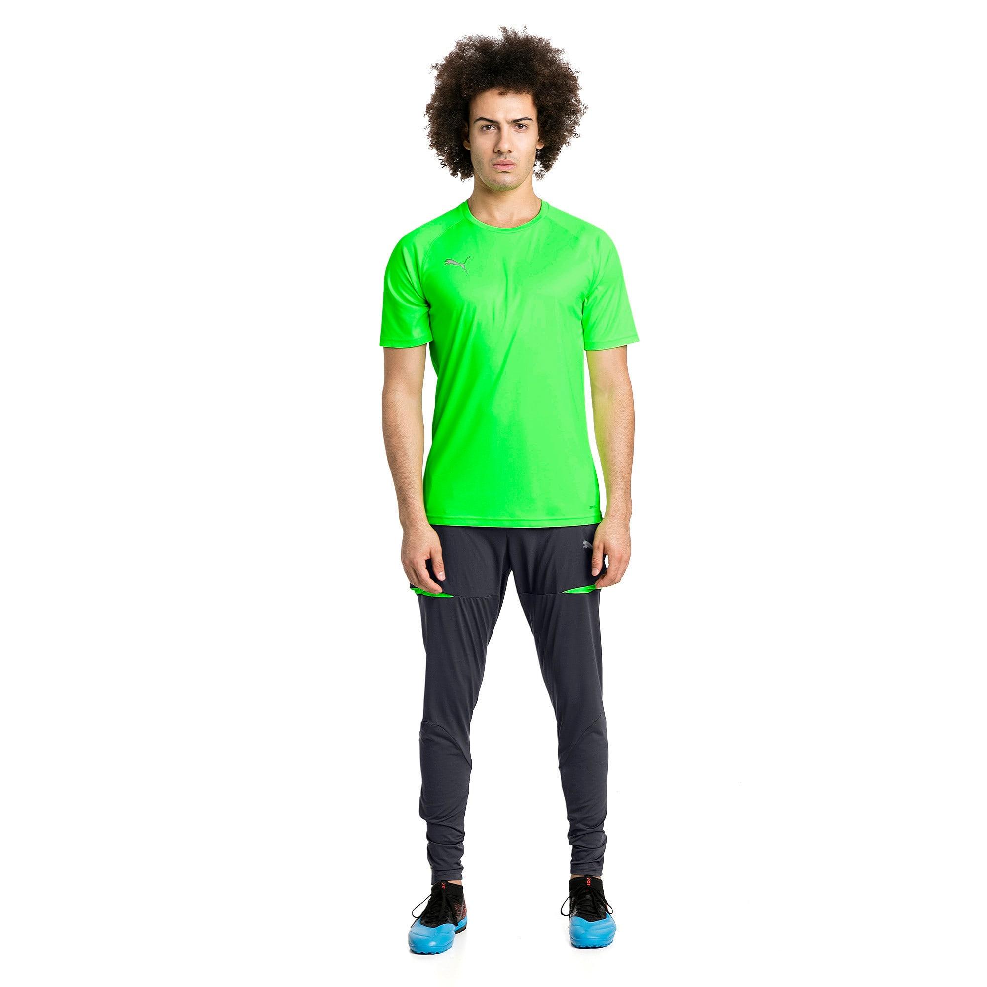 Thumbnail 5 of ftblNXT Men's Pro Training Pants, Ebony-Green Gecko, medium