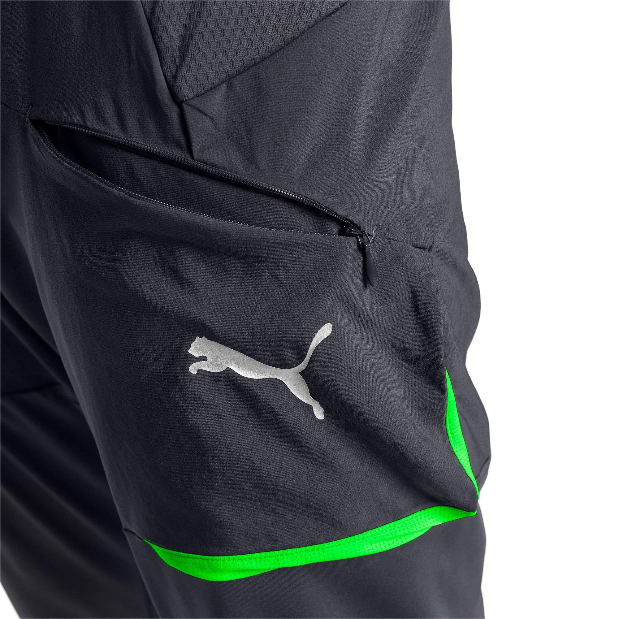 Thumbnail 6 of ftblNXT Men's Pro Training Pants, Ebony-Green Gecko, medium