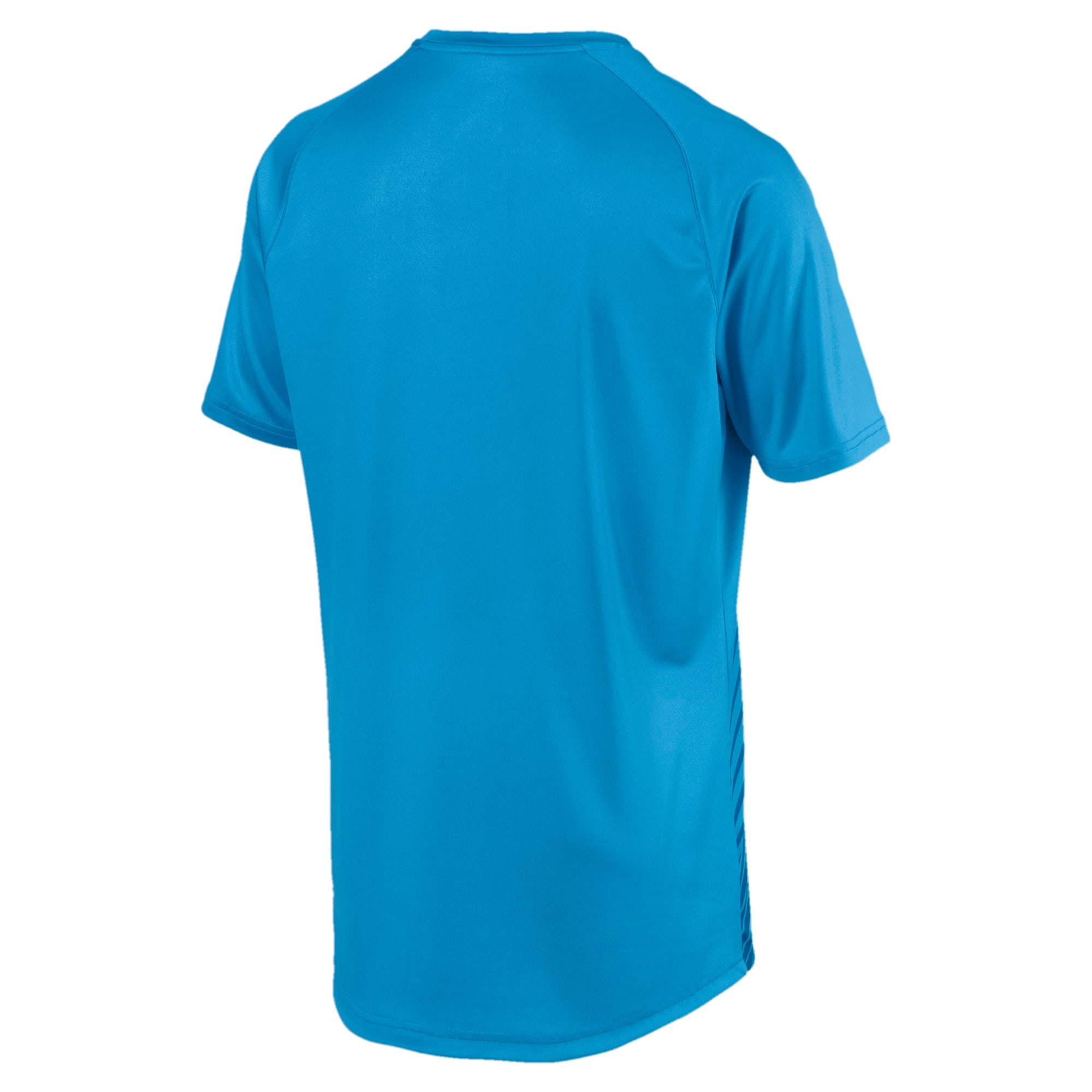 Thumbnail 5 of T-Shirt de foot ftblNXT Core Graphic pour homme, Bleu Azur-Red Blast, medium