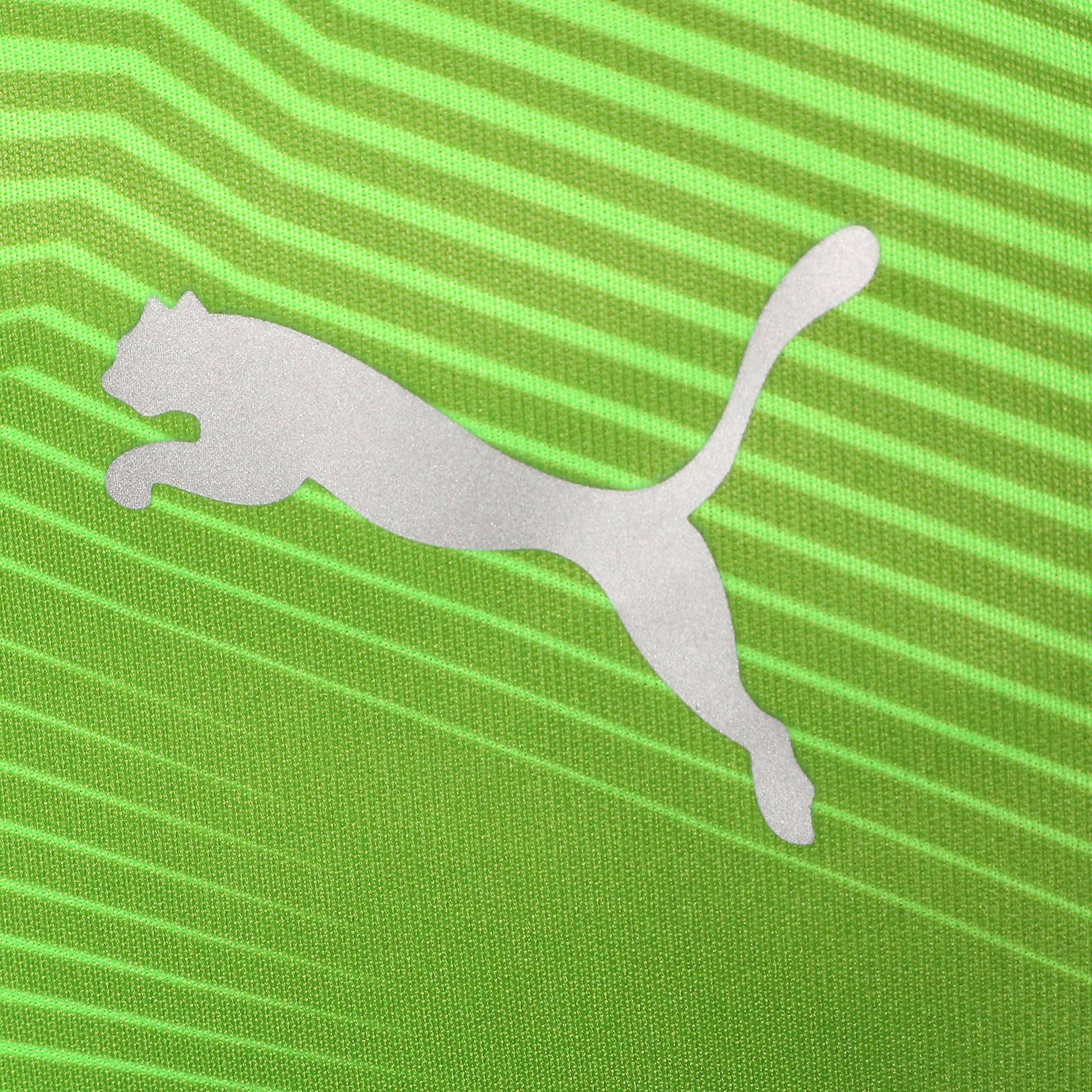 Thumbnail 4 of キッズ FTBLNXT ジュニア グラフィック シャツ, Green Gecko-Ebony, medium-JPN