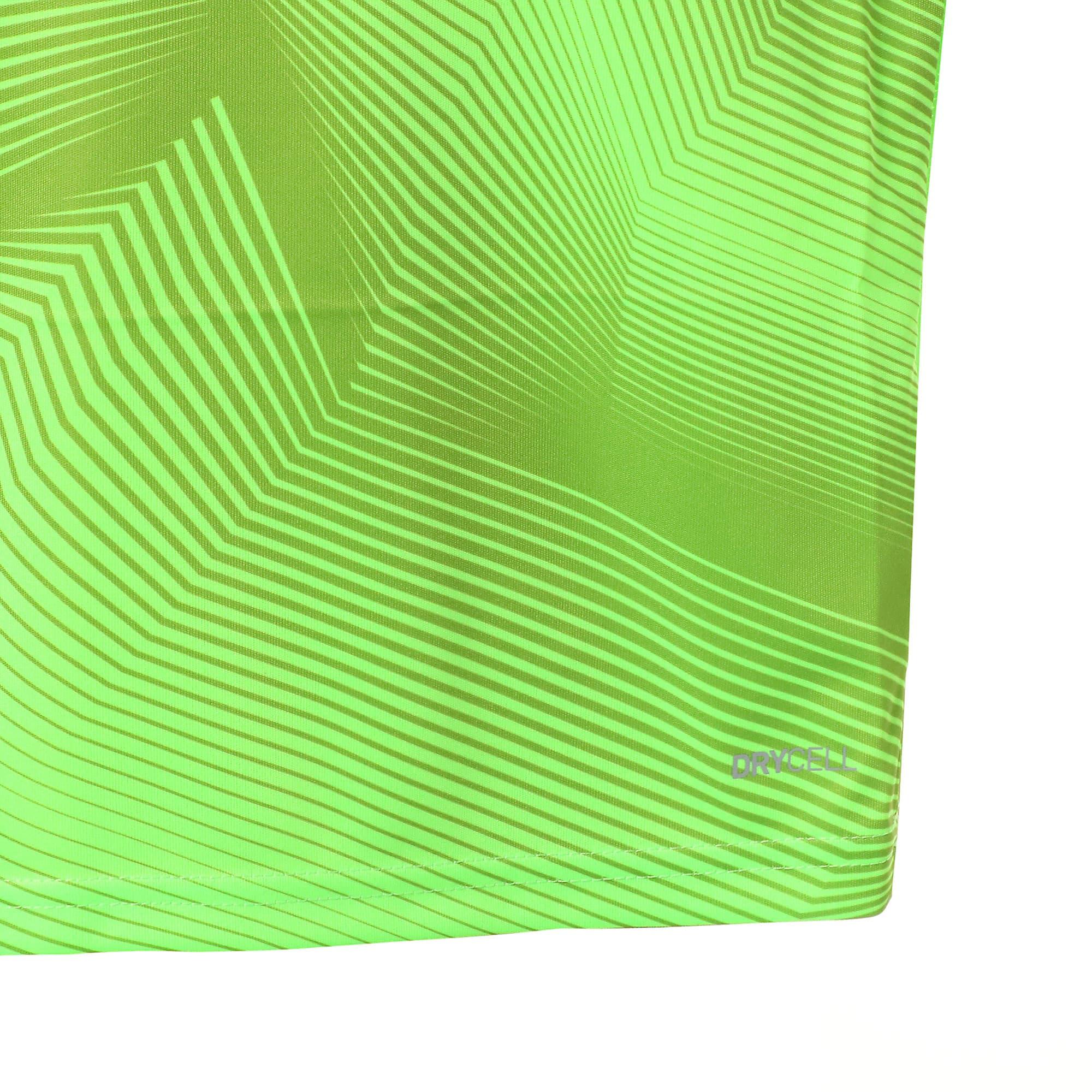 Thumbnail 6 of キッズ FTBLNXT ジュニア グラフィック シャツ, Green Gecko-Ebony, medium-JPN