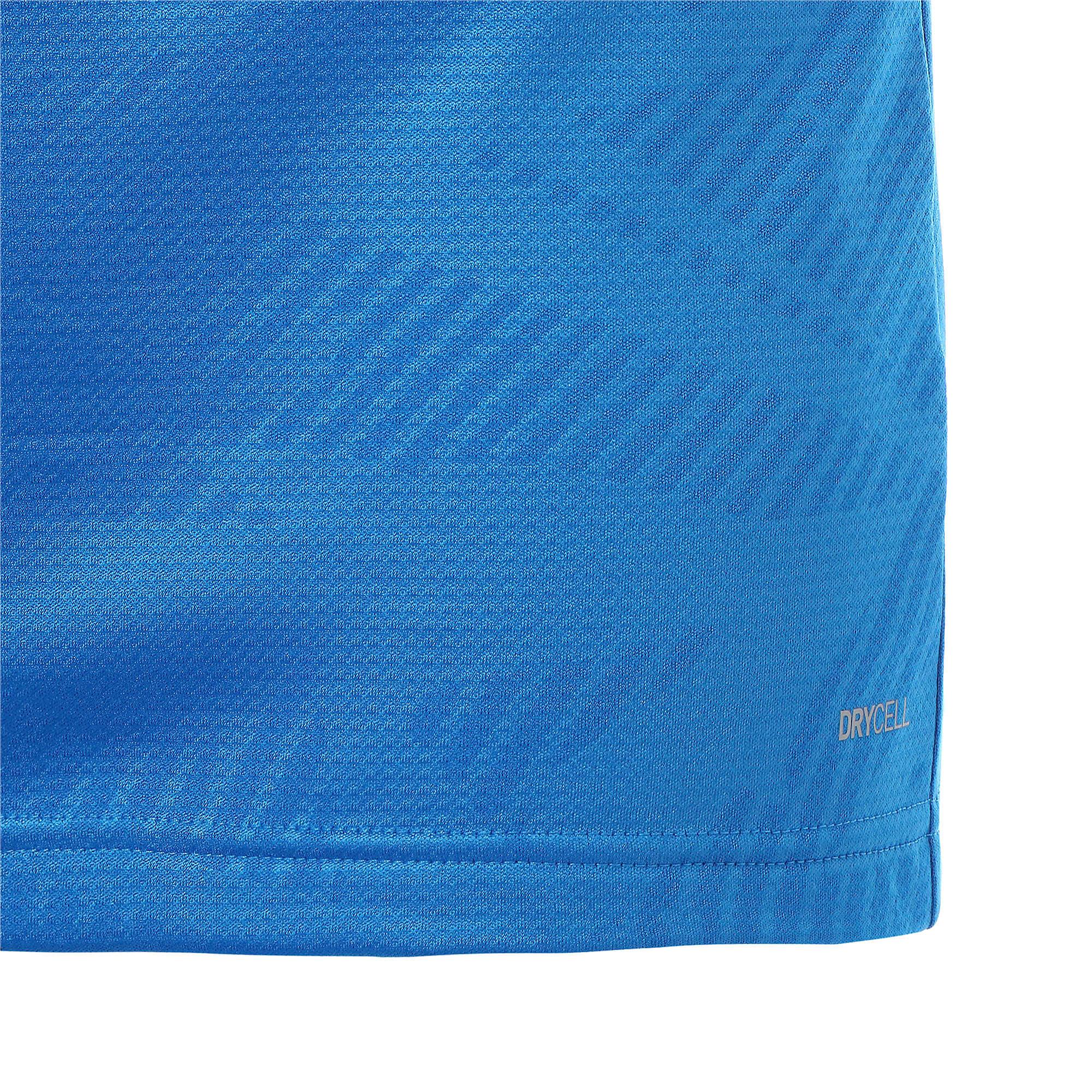 Thumbnail 6 of カップ トレーニング 1/4 ジップ コア, Electr Blue Lemonade-Peacoat, medium-JPN