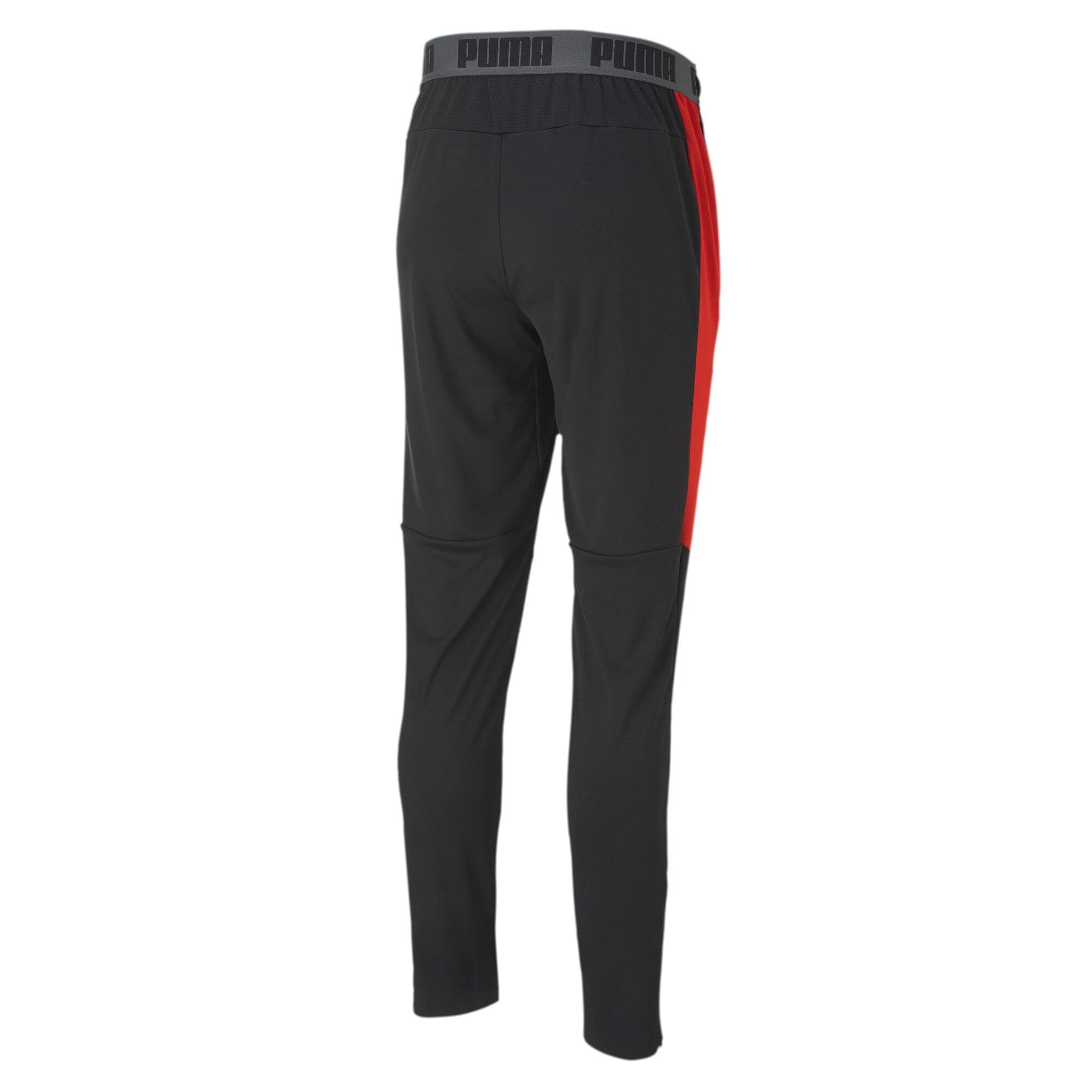 Thumbnail 3 of Men's Speed Pants, Puma Black-Puma Red, medium