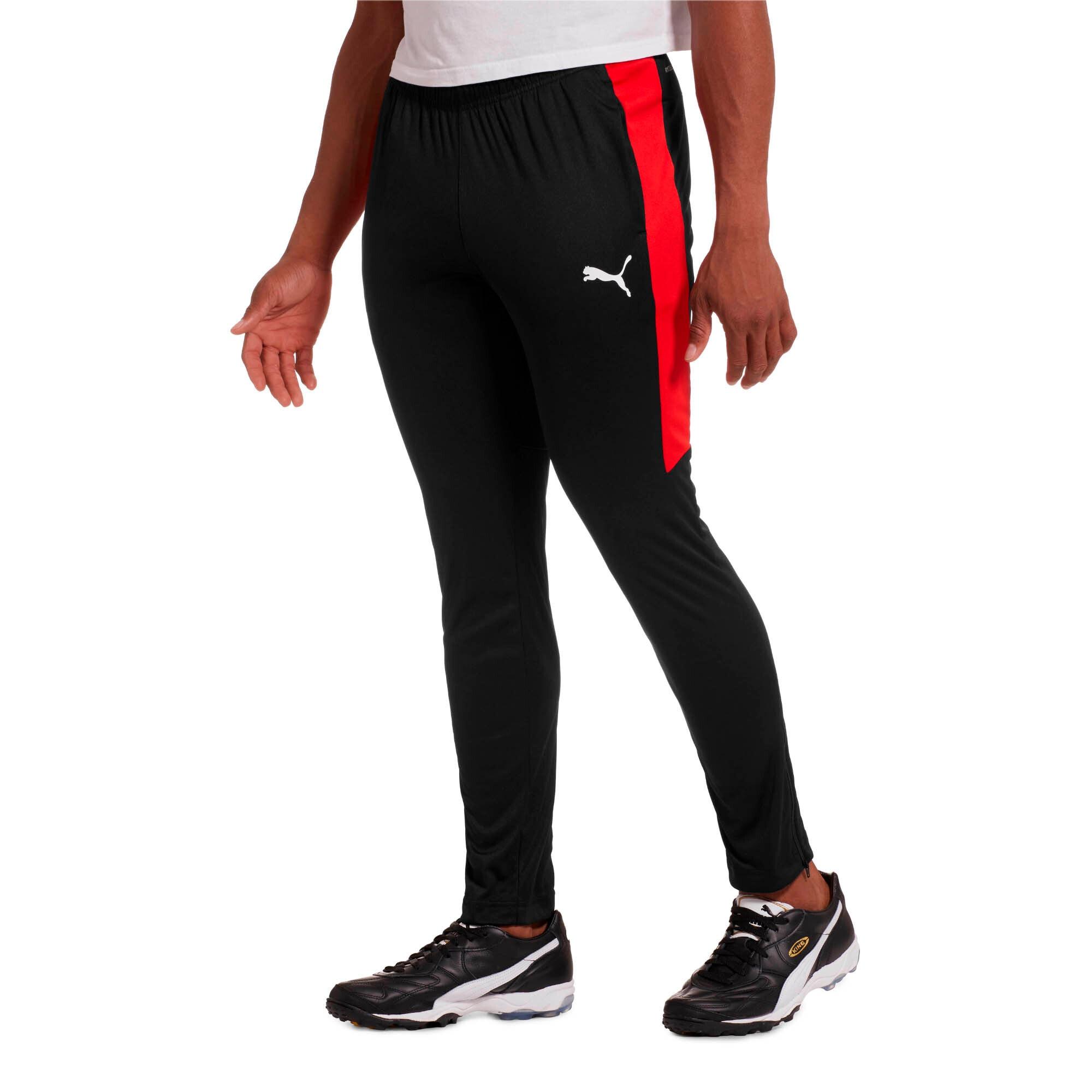 Thumbnail 1 of Men's Speed Pants, Puma Black-Puma Red, medium