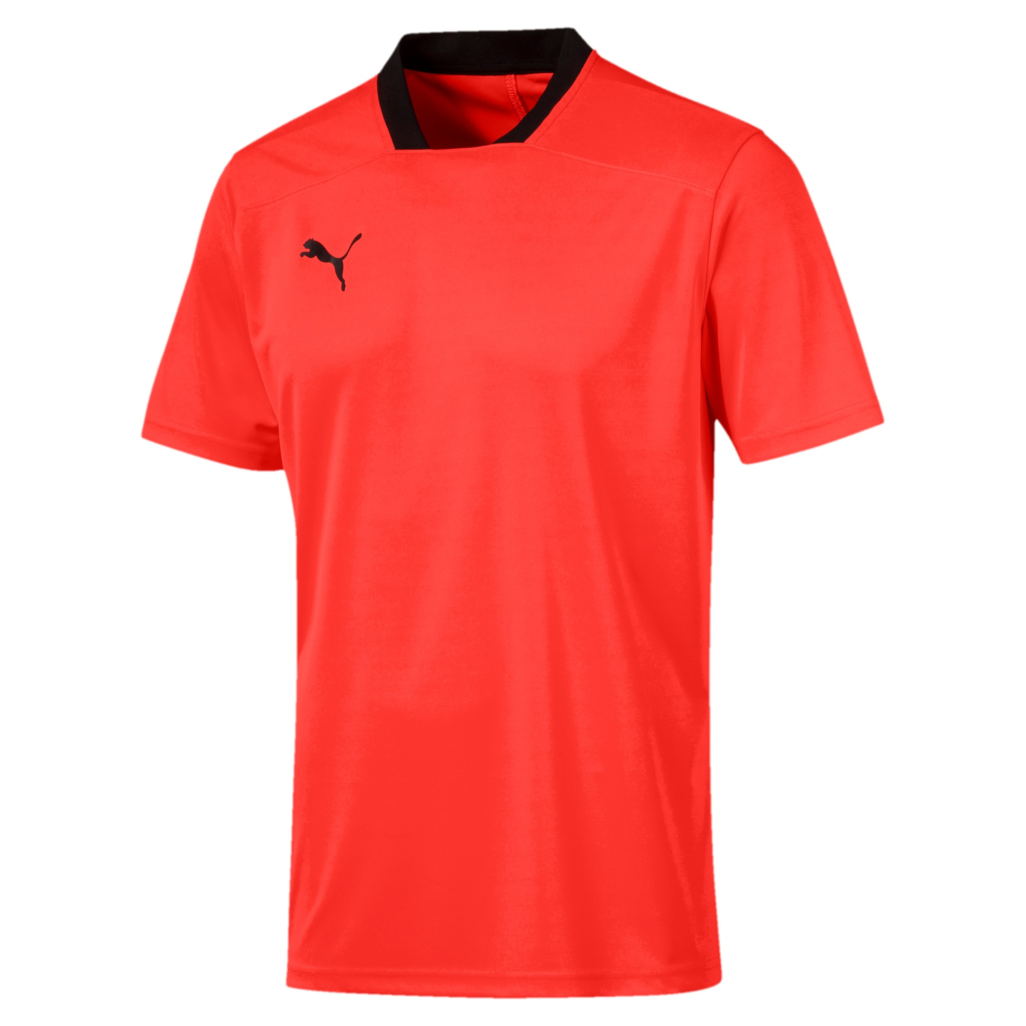 Thumbnail 4 of Herren T-Shirt, Nrgy Red-Puma Black, medium