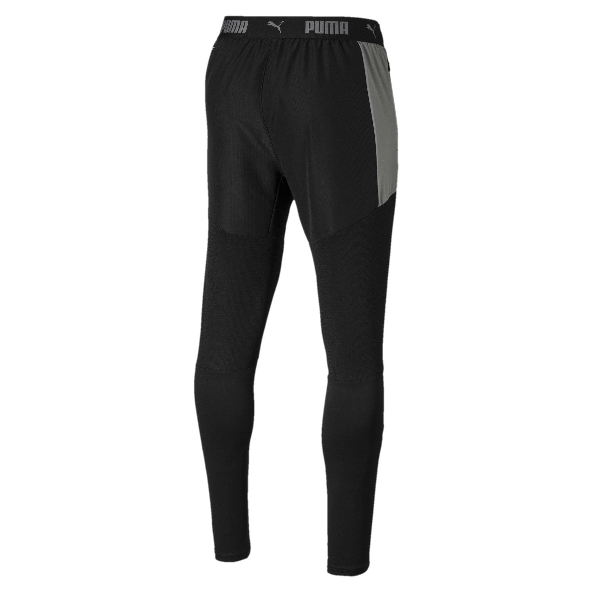 Thumbnail 5 of ftblNXT Men's Pro Pants, Puma Black-Nrgy Red, medium