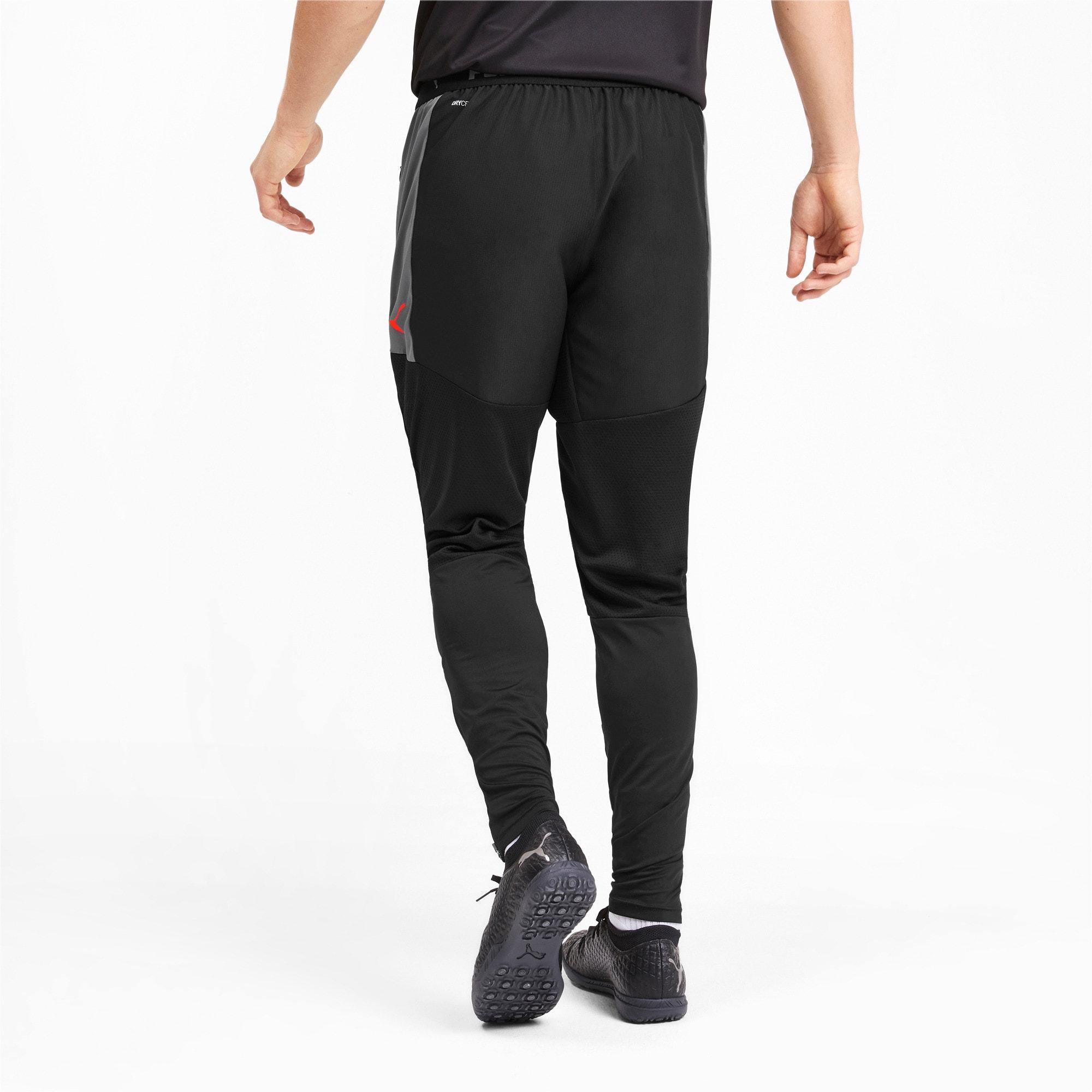 Thumbnail 2 of ftblNXT Men's Pro Pants, Puma Black-Nrgy Red, medium