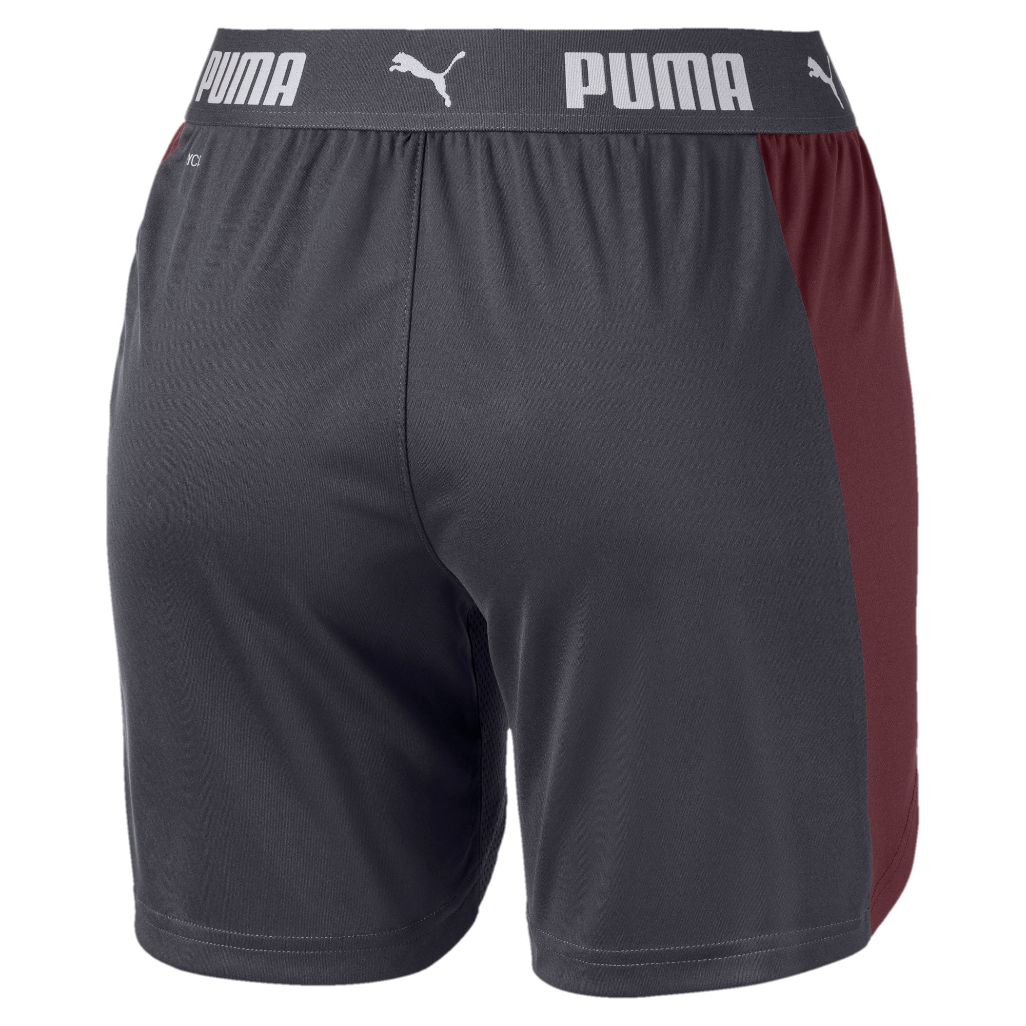 Thumbnail 5 of ftblNXT Women's Shorts, Ebony-Vineyard Wine, medium