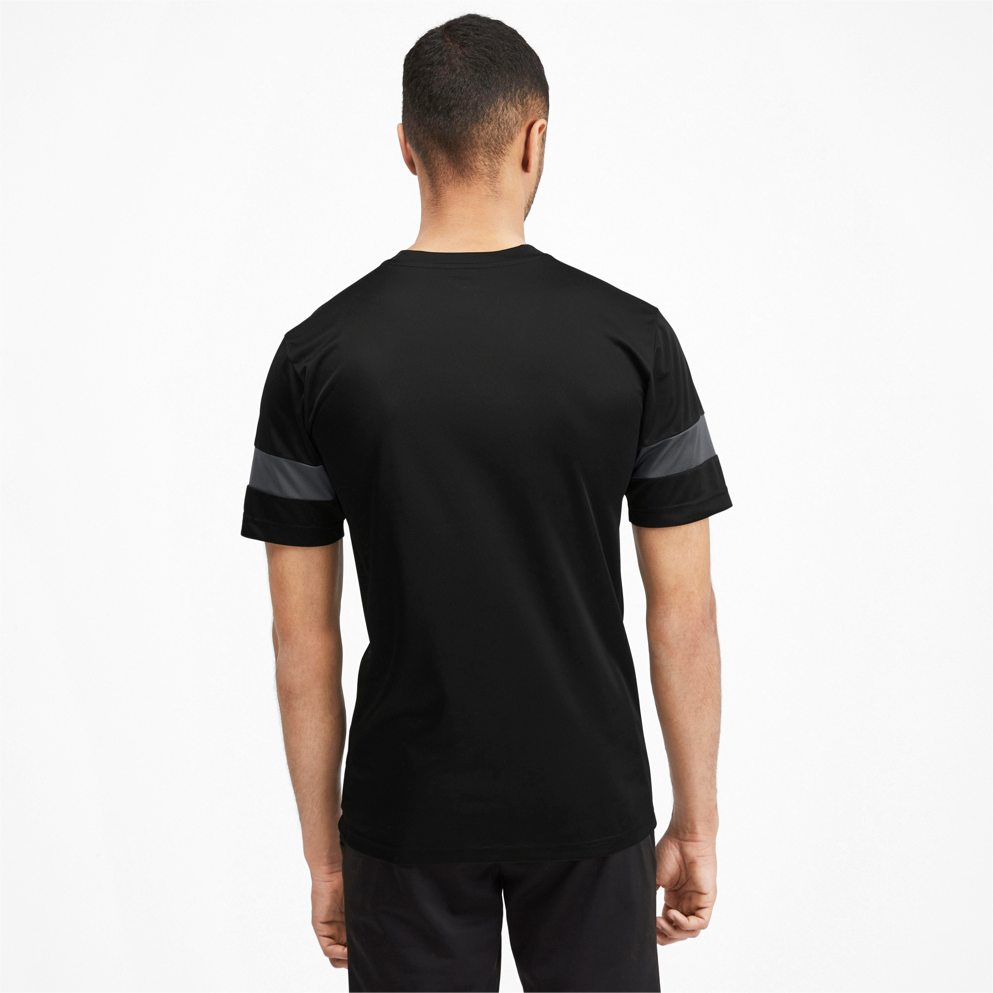 Thumbnail 2 of Herren Trainingsshirt, Puma Black-Asphalt, medium