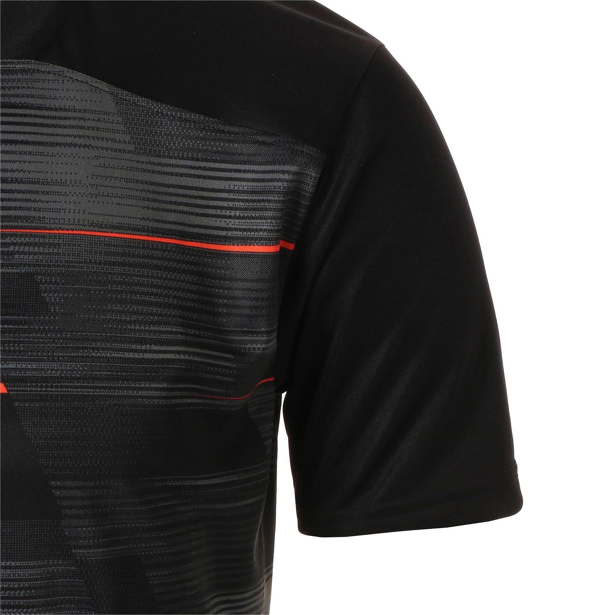 Thumbnail 6 of FTBLNXT グラフィック シャツ, Puma Black-Nrgy Red, medium-JPN