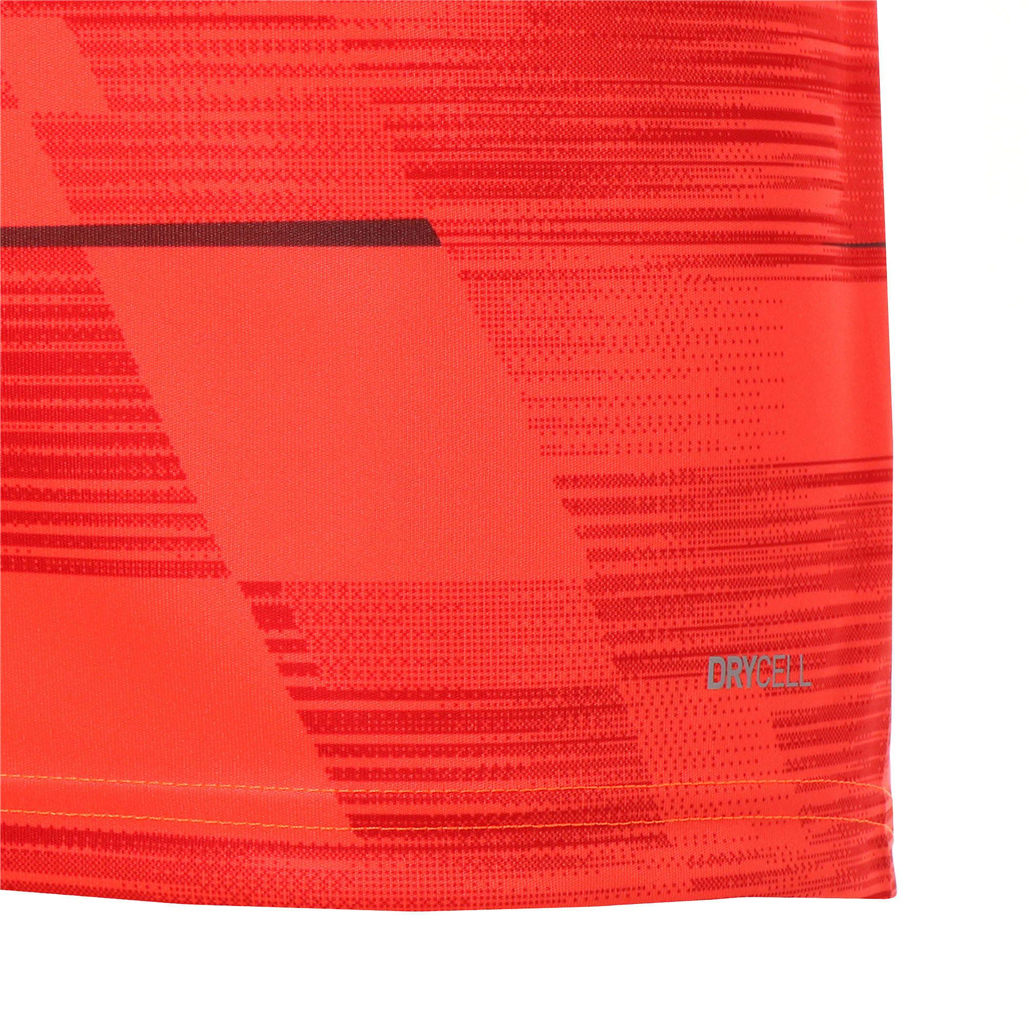 Thumbnail 8 of FTBLNXT グラフィック シャツ, Nrgy Red-Puma Black, medium-JPN