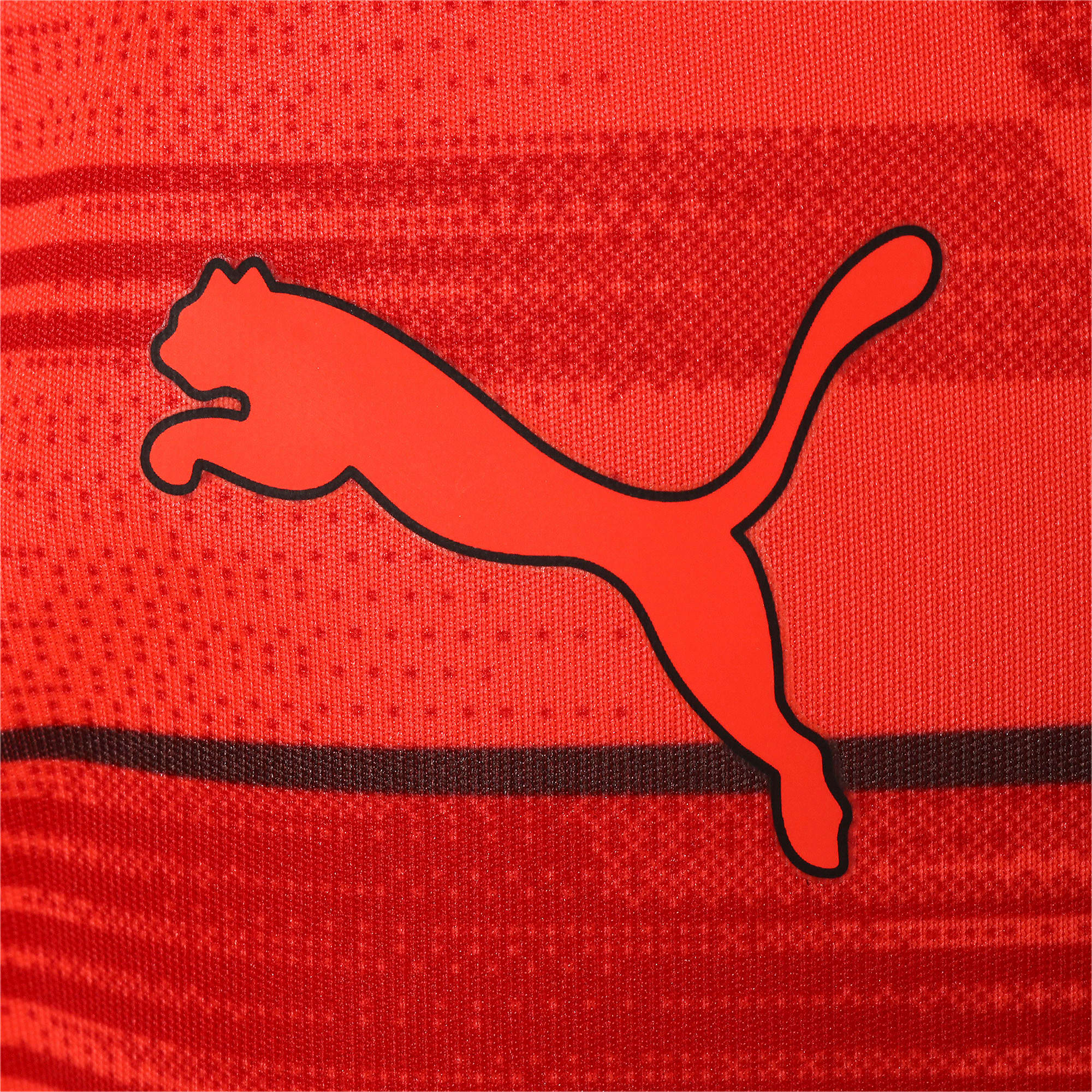 Thumbnail 4 of キッズ FTBLNXT ジュニア グラフィック シャツ, Nrgy Red-Puma Black, medium-JPN