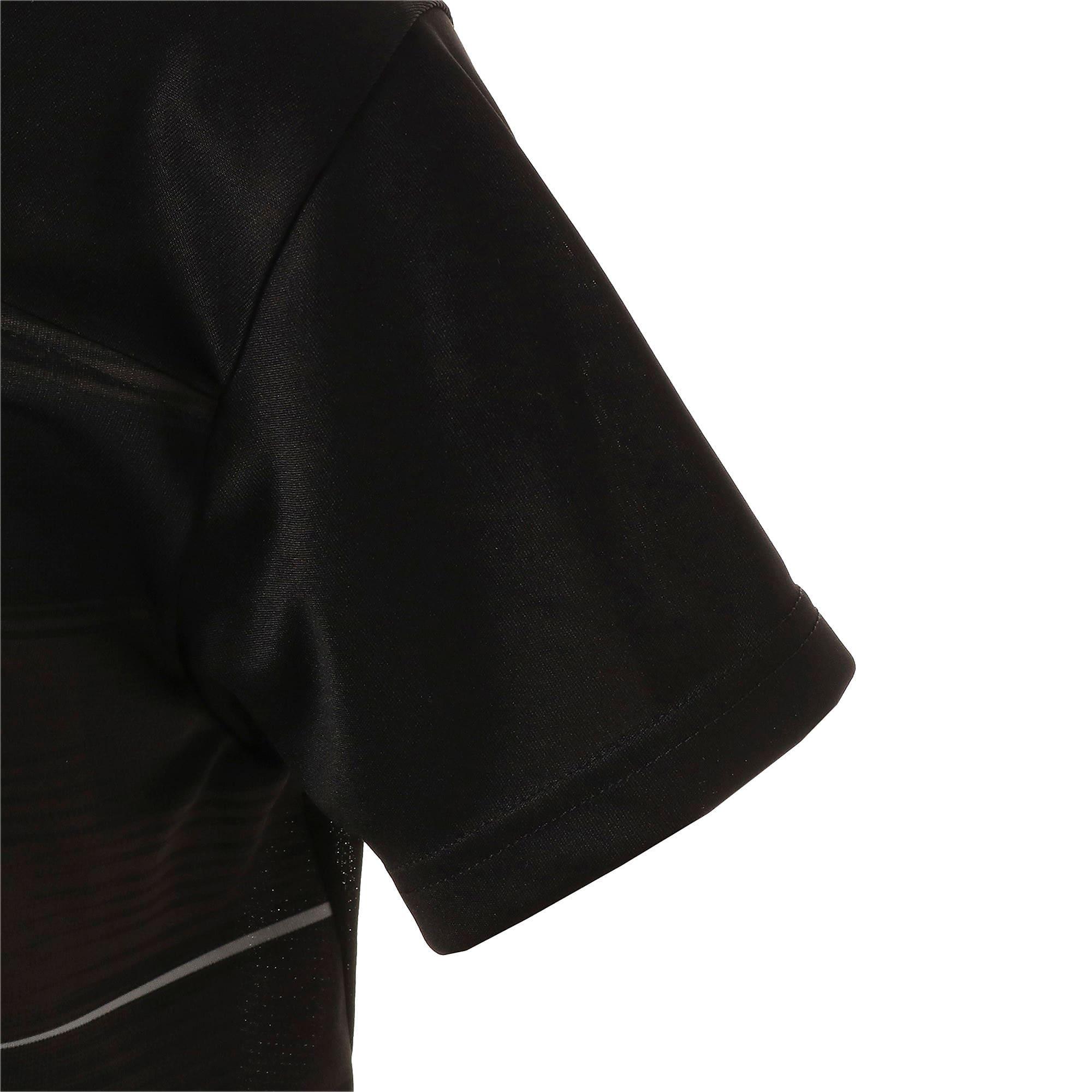 Thumbnail 5 of キッズ FTBLNXT ジュニア グラフィック シャツ, Puma Black-Phantom Black, medium-JPN