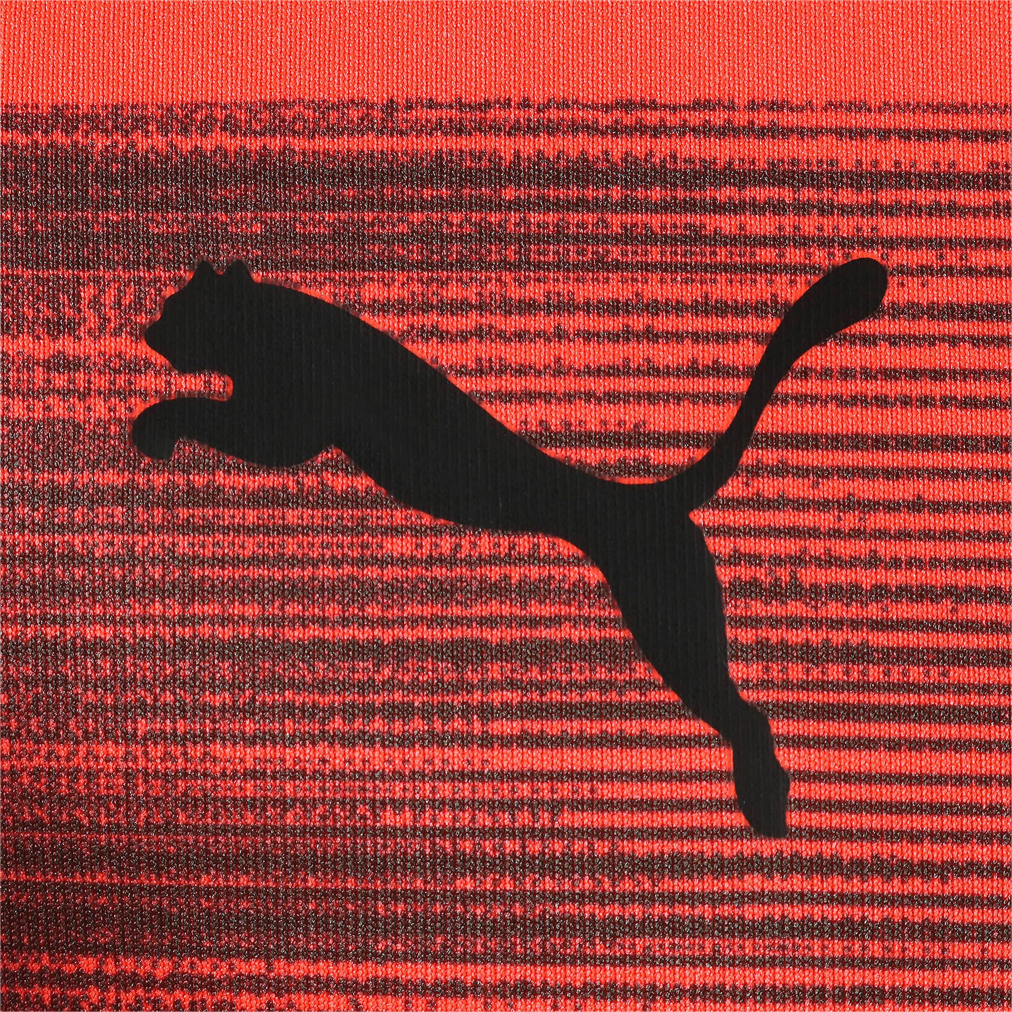 Thumbnail 4 of キッズ FTBLNXT ジュニア グラフィック シャツ コア, Nrgy Red-Puma Black, medium-JPN