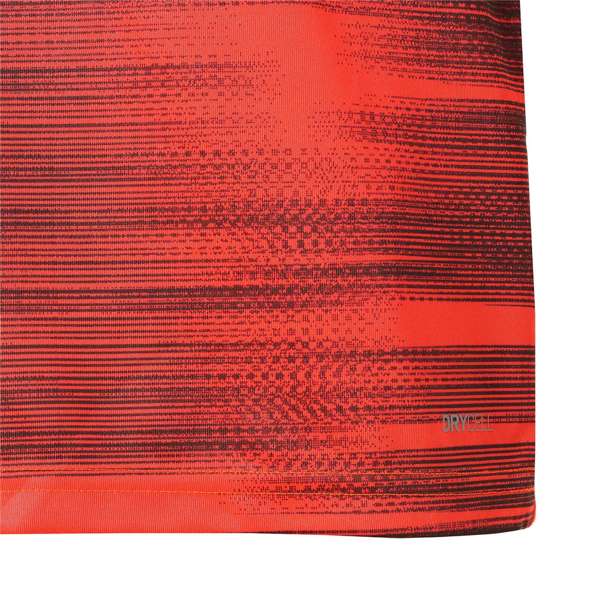 Thumbnail 6 of キッズ FTBLNXT ジュニア グラフィック シャツ コア, Nrgy Red-Puma Black, medium-JPN