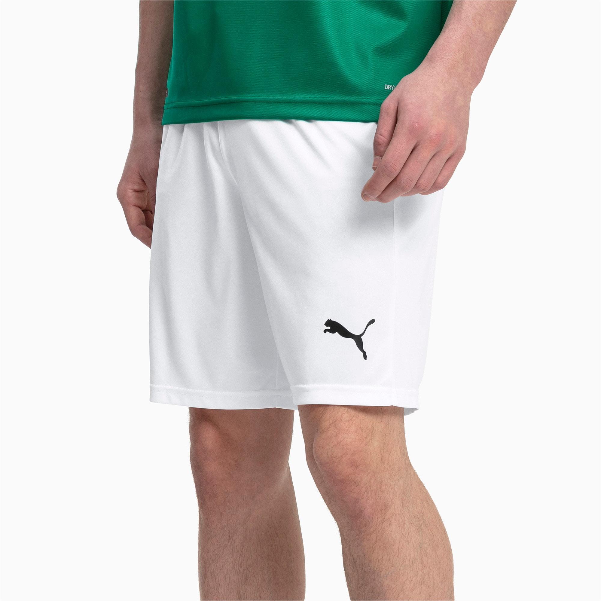 Thumbnail 1 of Liga Core Men's Shorts, Puma White-Puma Black, medium