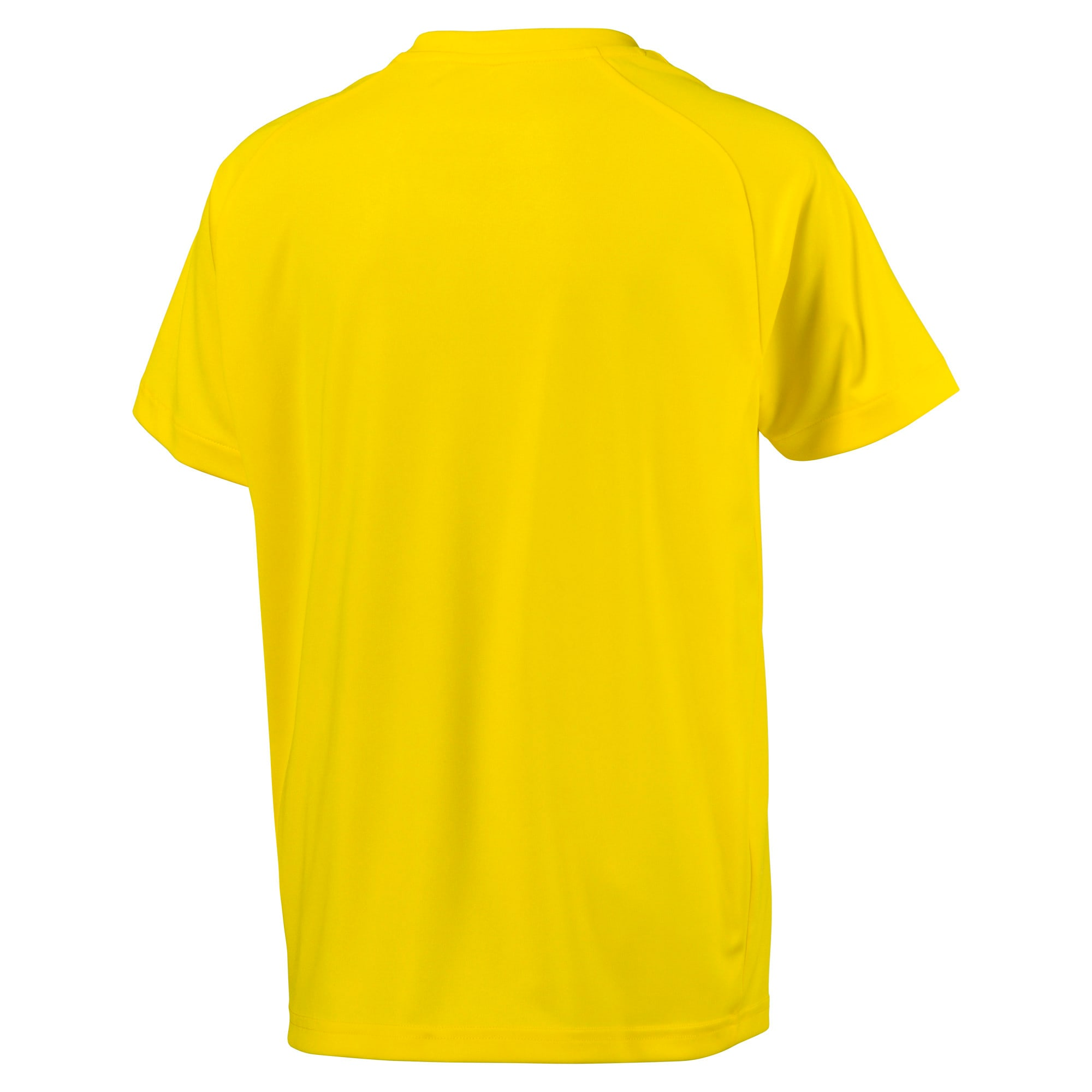 Thumbnail 2 of Fußball Kinder LIGA Core Trikot, Cyber Yellow-Puma Black, medium
