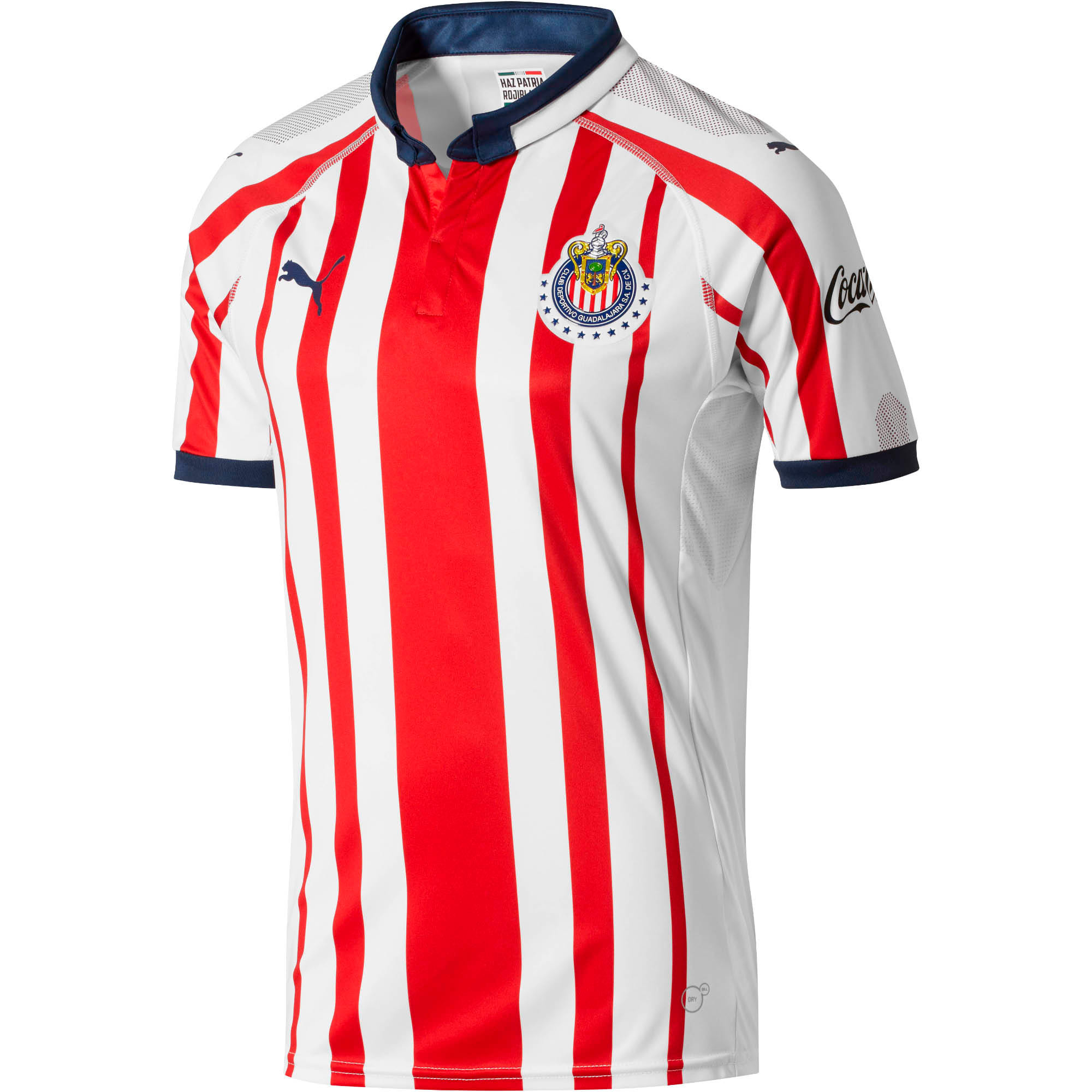 Thumbnail 1 of Chivas Men's Home Replica Jersey, P White-P Red-P New Navy, medium