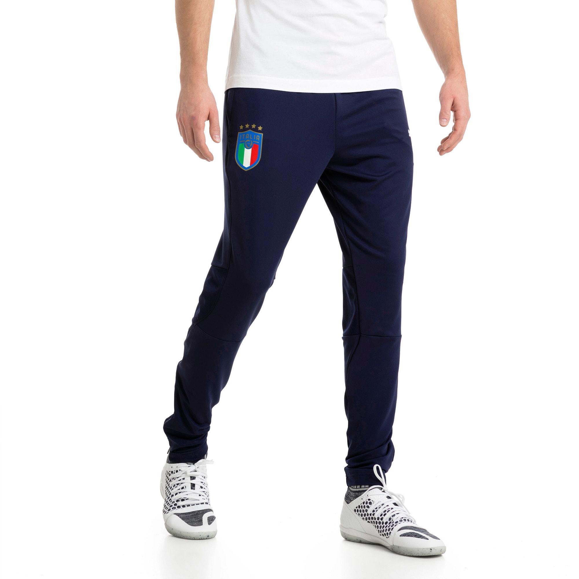 Thumbnail 2 of Italia Training Pants Zipped Pockets, Peacoat, medium