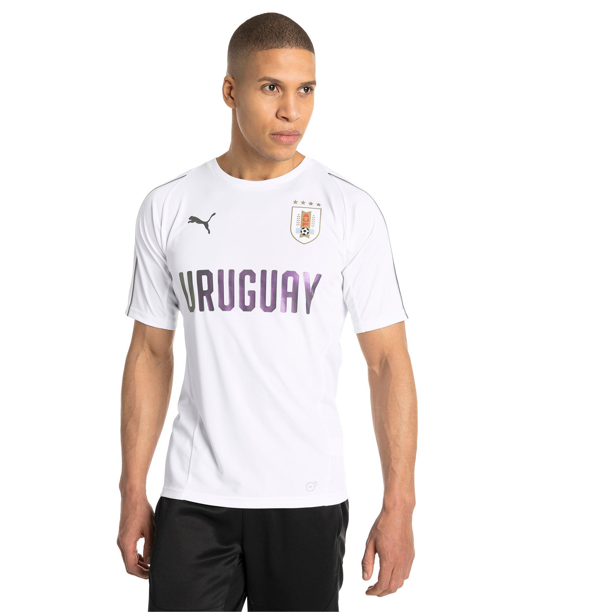 Thumbnail 2 of Uruguay Men's Training Jersey, Puma White, medium