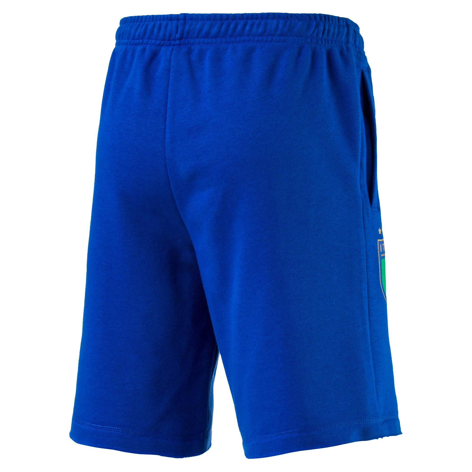 Thumbnail 4 of Short FIGC Italia Bermuda pour homme, Team Power Blue, medium