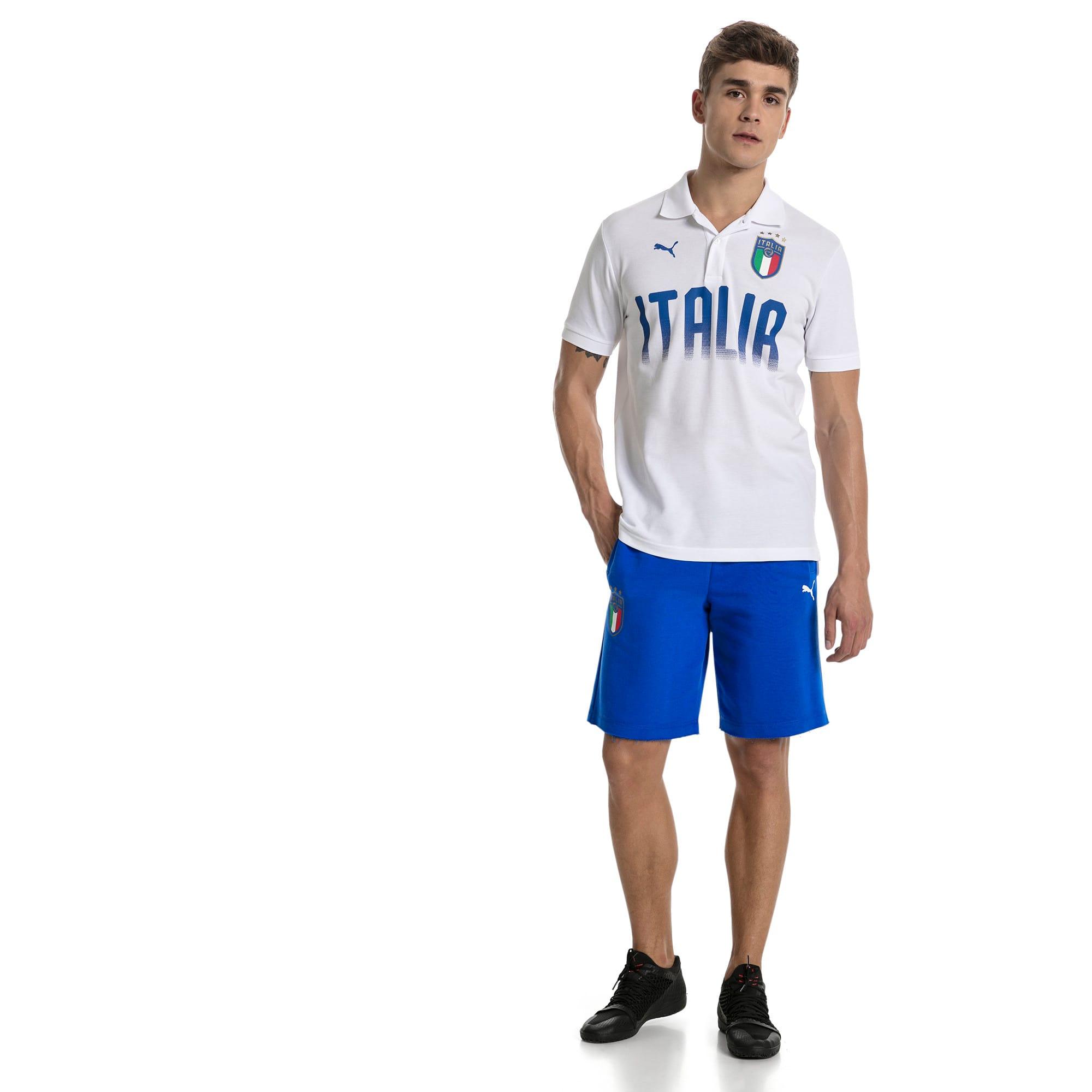 Thumbnail 5 of Short FIGC Italia Bermuda pour homme, Team Power Blue, medium