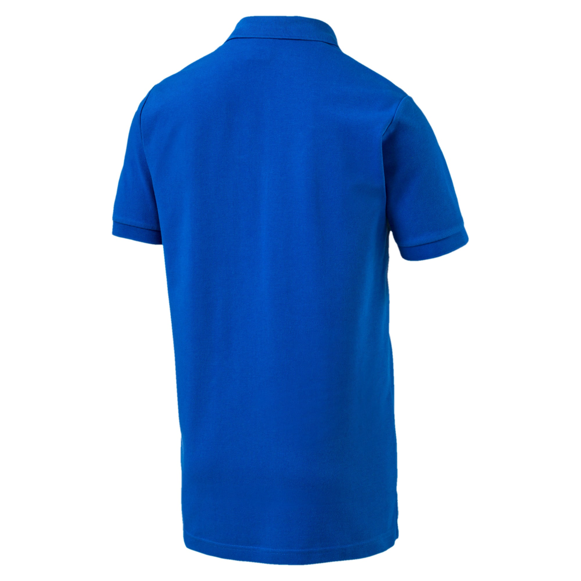 Thumbnail 4 of FIGC Men's Italia Fanwear Polo, Team Power Blue, medium