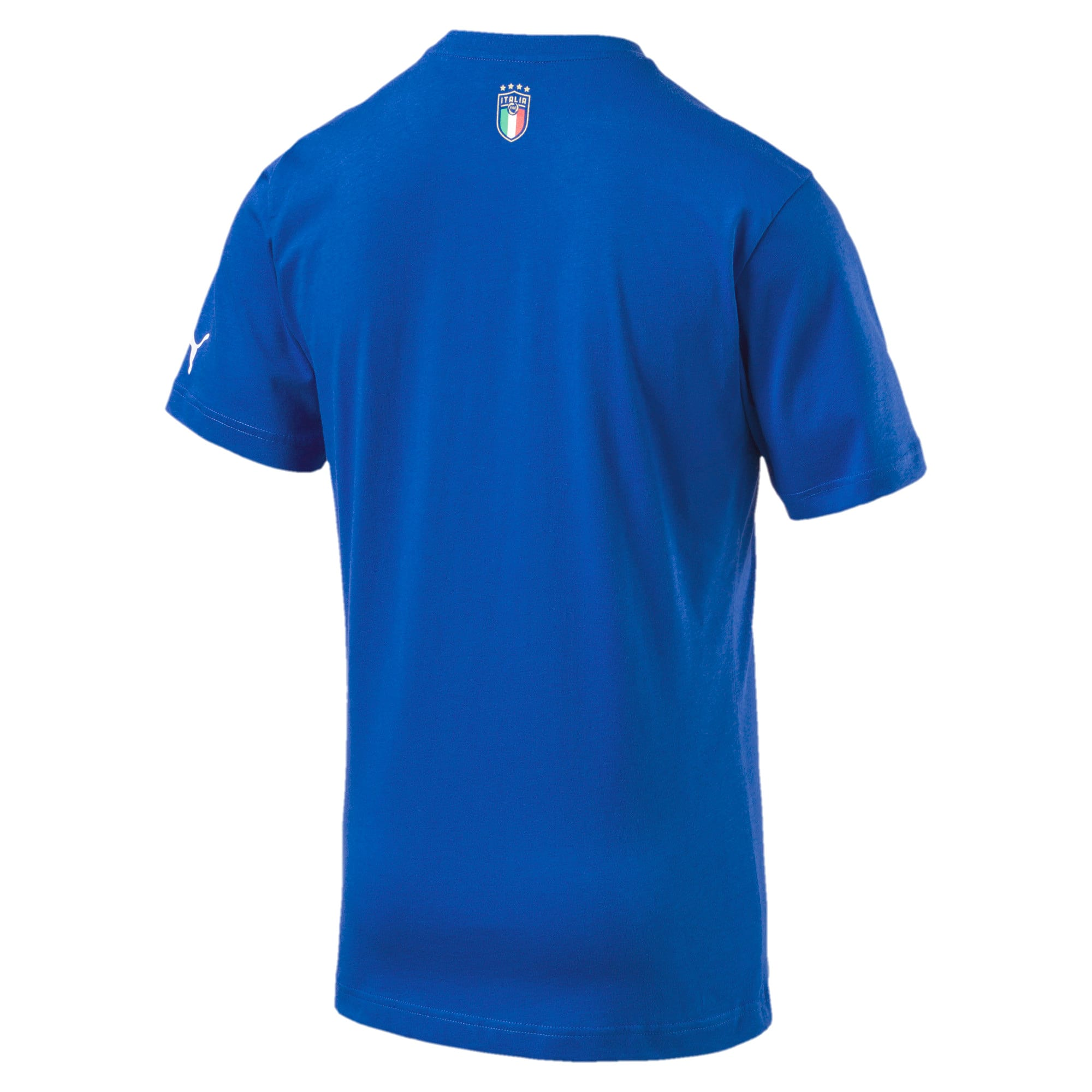 Thumbnail 4 of FIGC Italia Fanwear Grap Tee, Team Power Blue, medium