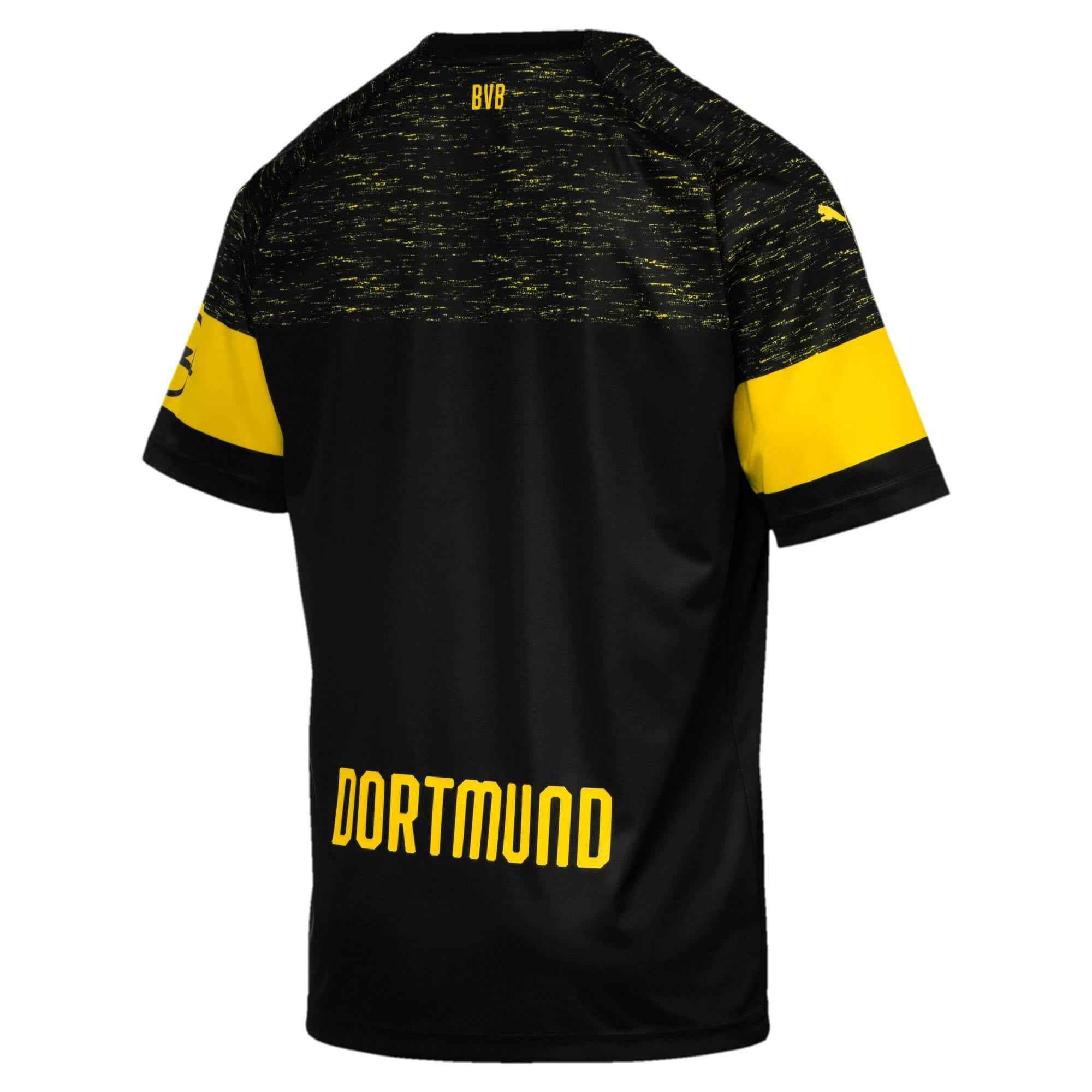 Thumbnail 3 of BVB Men's Replica Away Shirt, Puma Black, medium