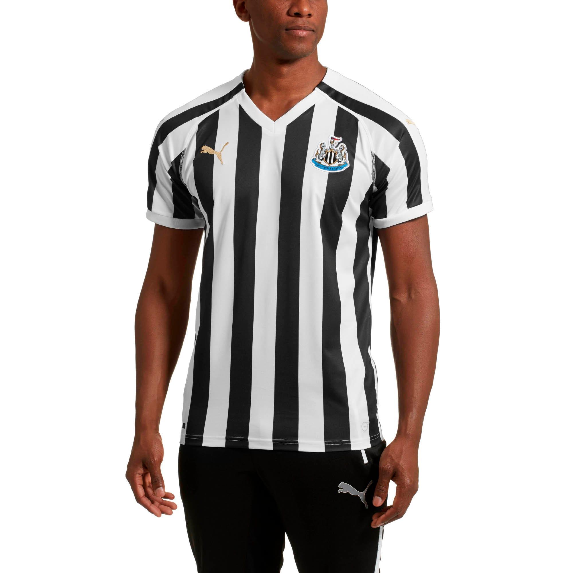 Miniatura 1 de Réplica de camiseta de local delNewcastle Unitedpara hombre, Puma White-Puma Black, mediano