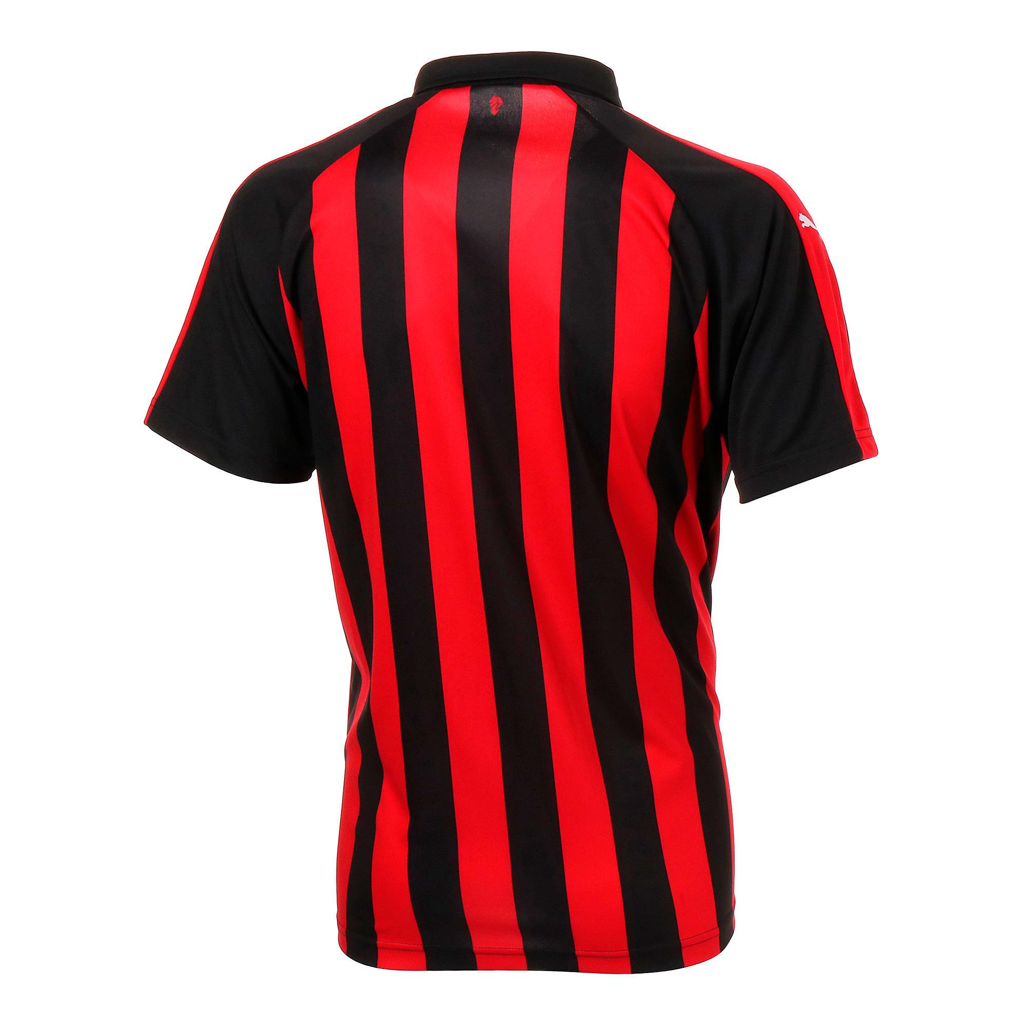 Thumbnail 3 of AC MILAN SS ホーム レプリカシャツ 半袖, Tango Red-Puma Black, medium-JPN