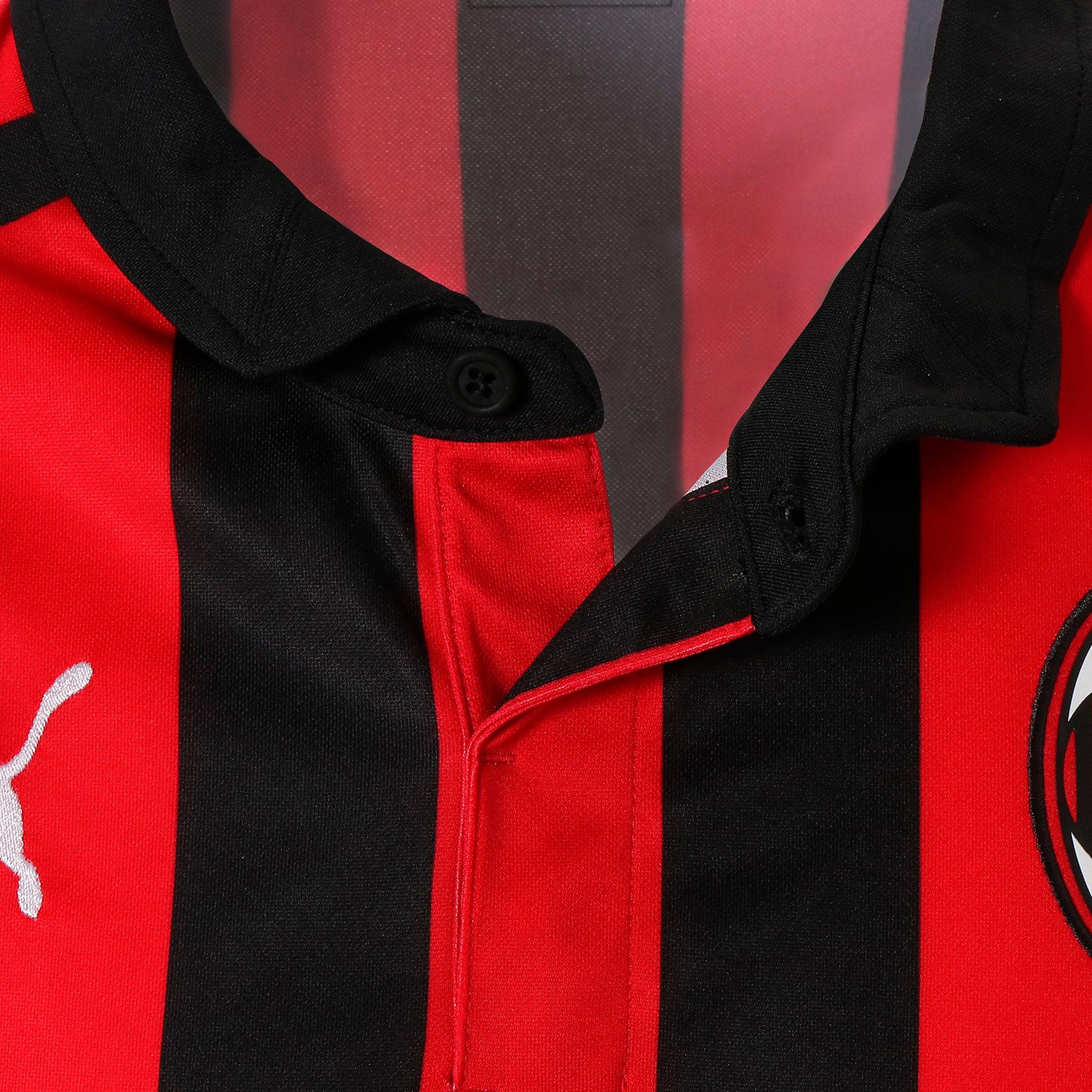 Thumbnail 7 of AC MILAN SS ホーム レプリカシャツ 半袖, Tango Red-Puma Black, medium-JPN