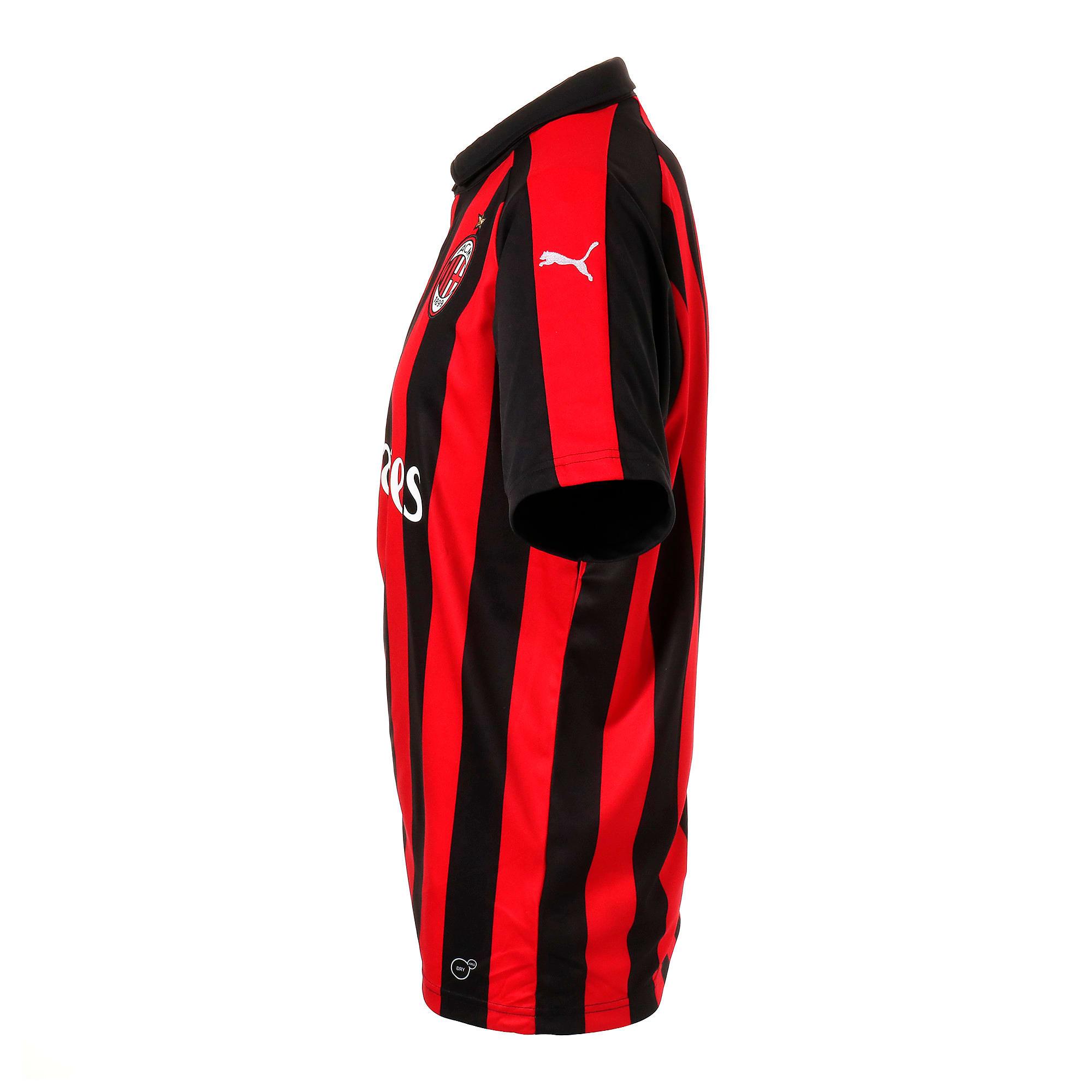 Thumbnail 2 of AC MILAN SS ホーム レプリカシャツ 半袖, Tango Red-Puma Black, medium-JPN