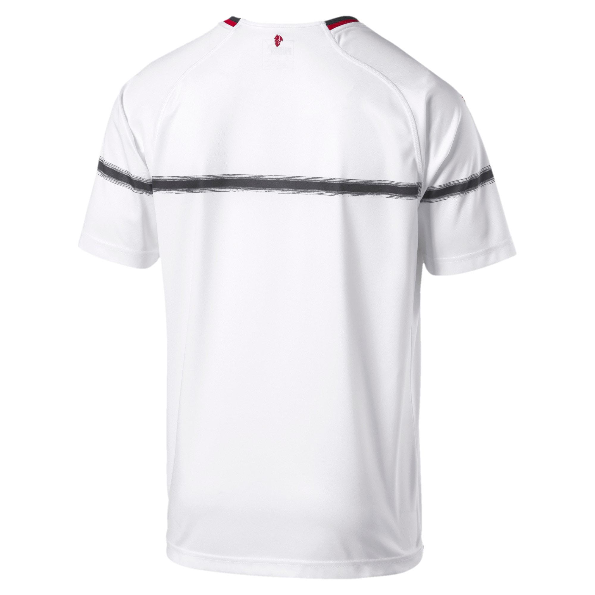 Thumbnail 3 of AC Milan Men's Away Replica Jersey, Puma White-Tango Red, medium