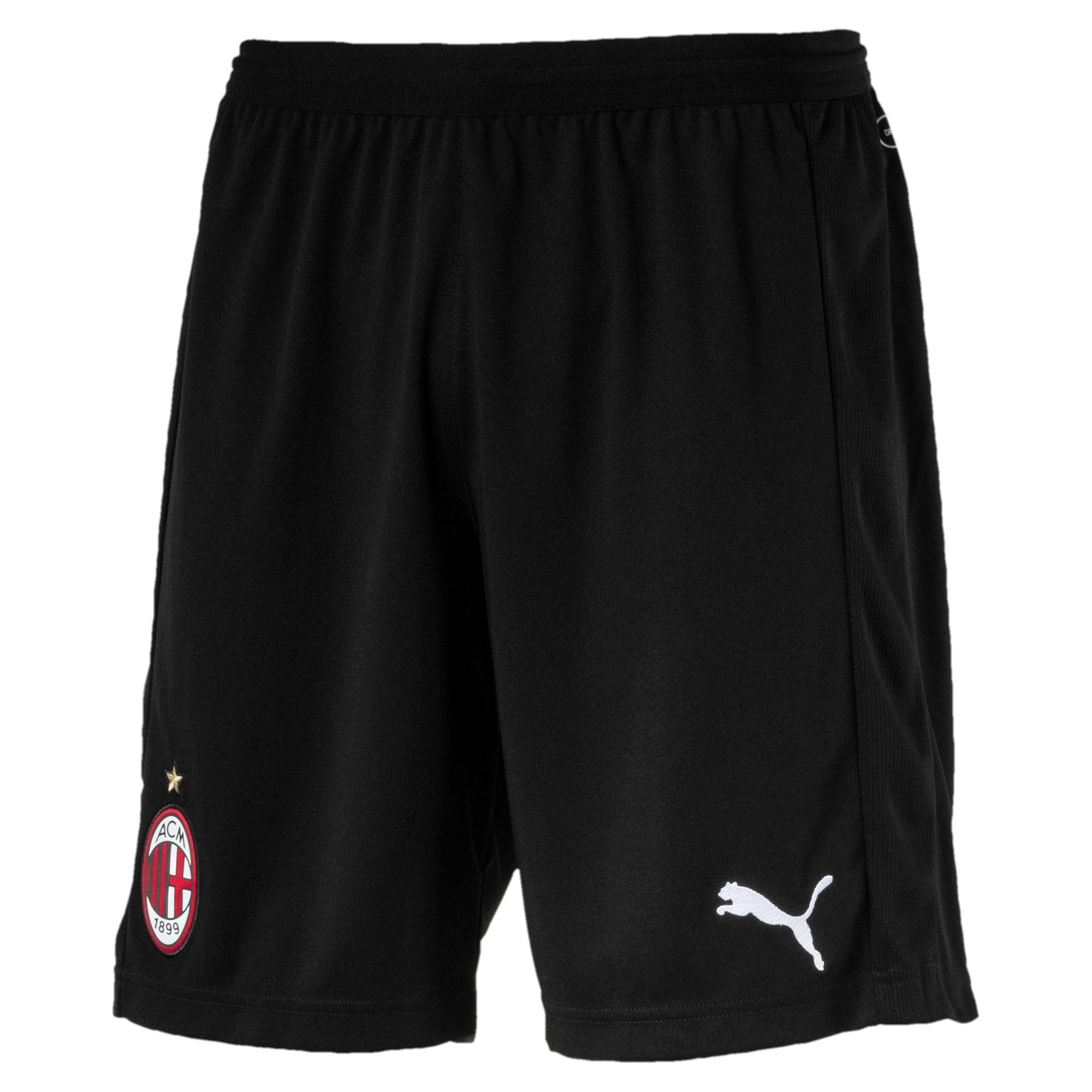 Thumbnail 1 of AC Milan Men's Replica Shorts, Puma Black-Puma White, medium
