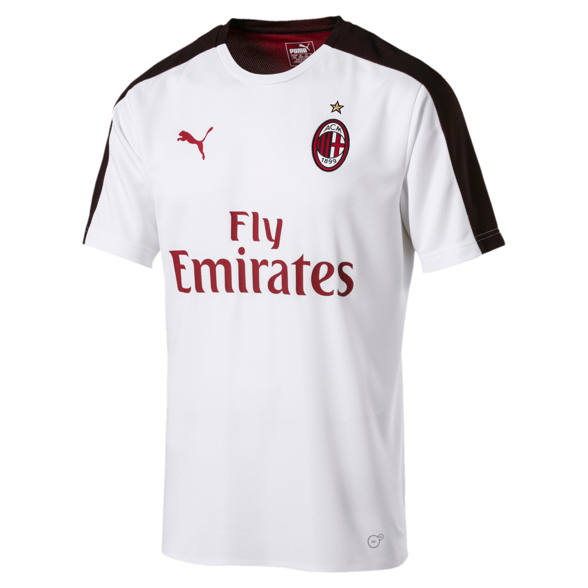 Thumbnail 1 of AC Milan Men's Stadium Jersey, Puma White-Puma Black, medium