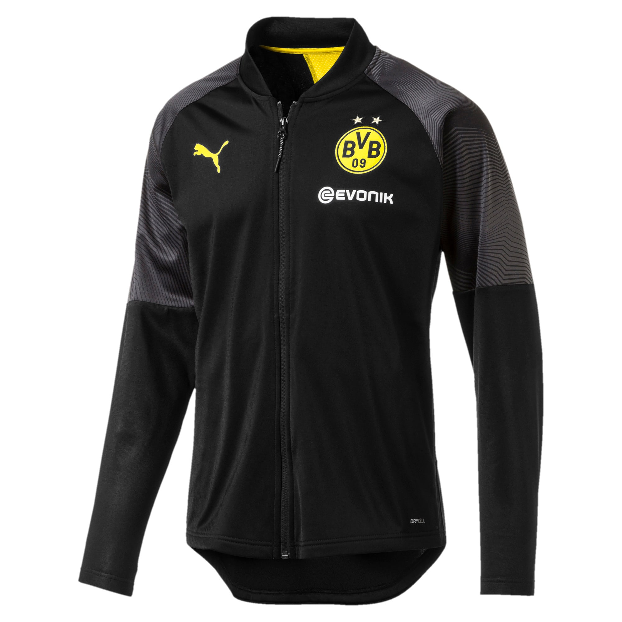 Thumbnail 1 of BVB Stadium Men's Poly Jacket, Puma Black, medium
