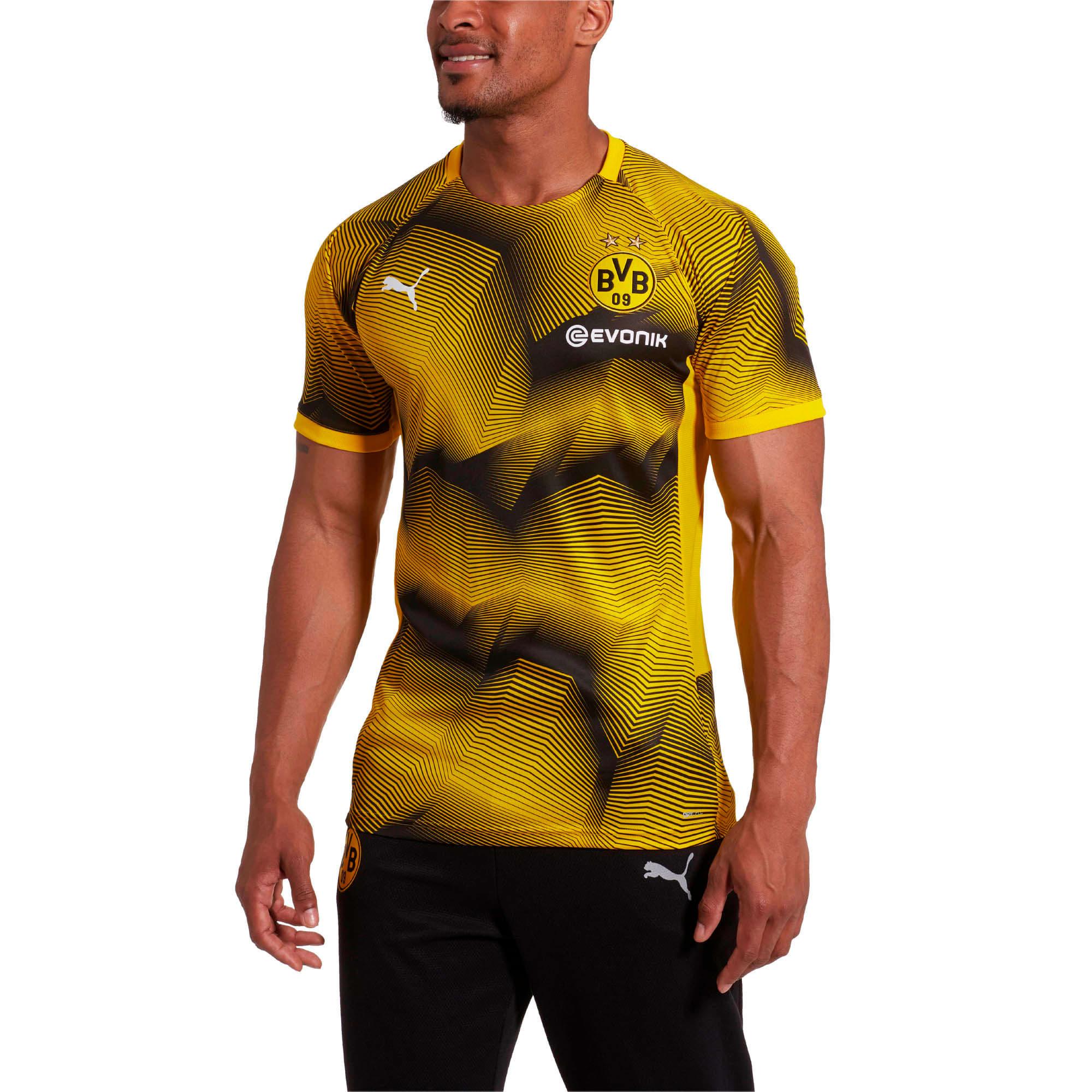 Thumbnail 2 of BVB Stadium Graphic Jersey, cyber yellow-Cyber Yellow, medium