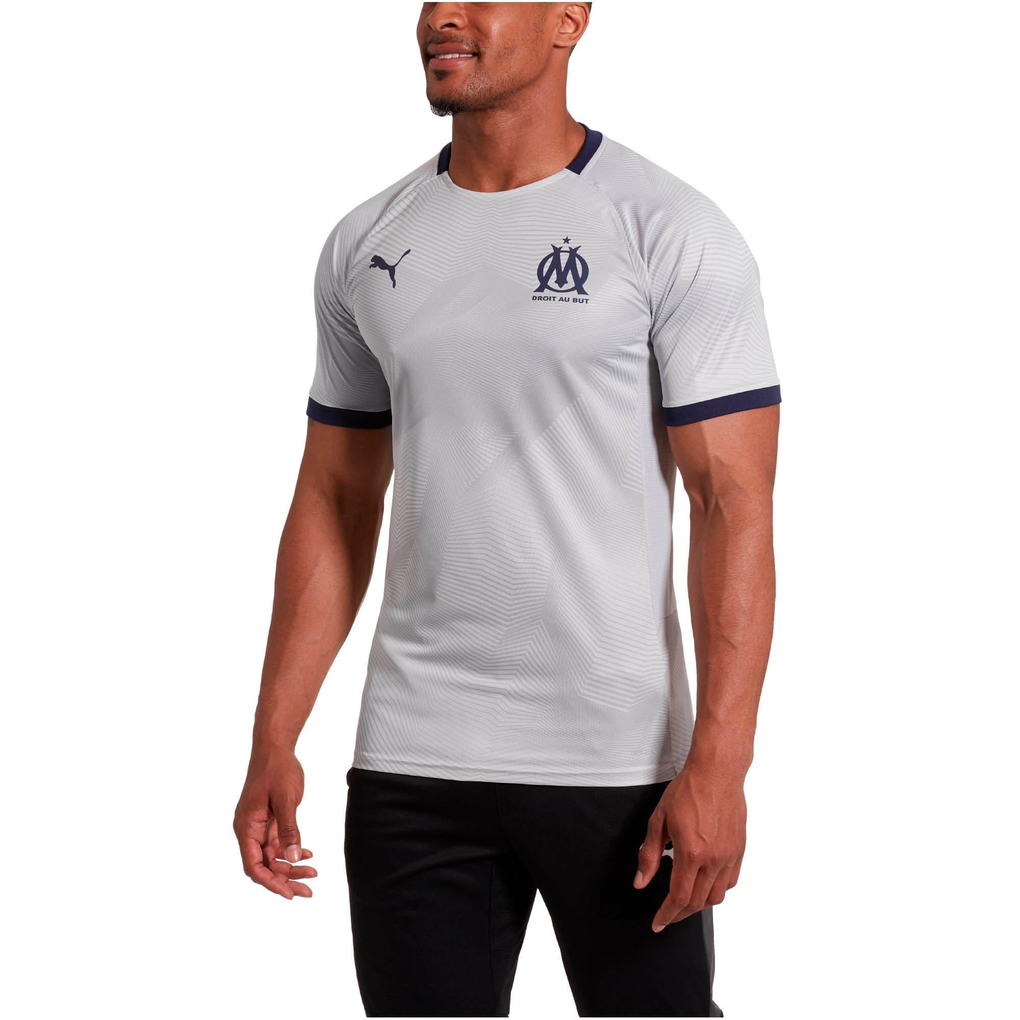 Thumbnail 2 of Olympique de Marseille Men's Graphic Jersey, High Rise-Peacoat, medium